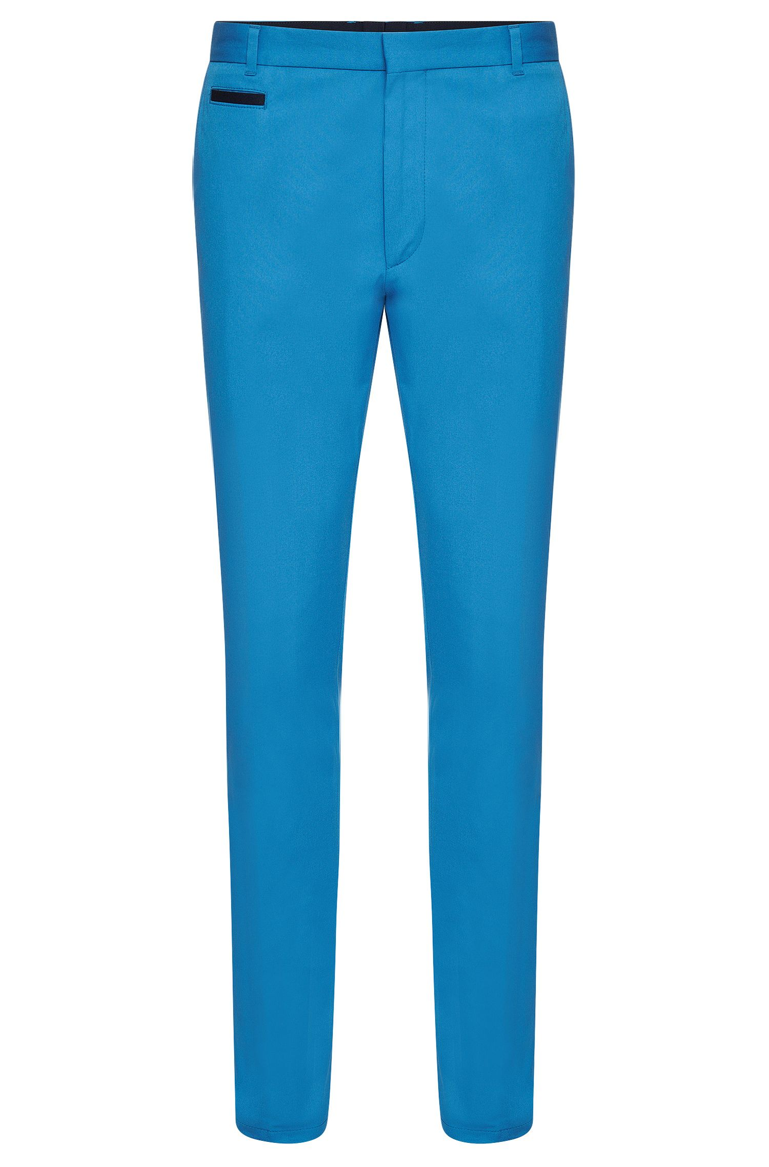 Slim-fit chinos in stretch cotton: 'Heralt'