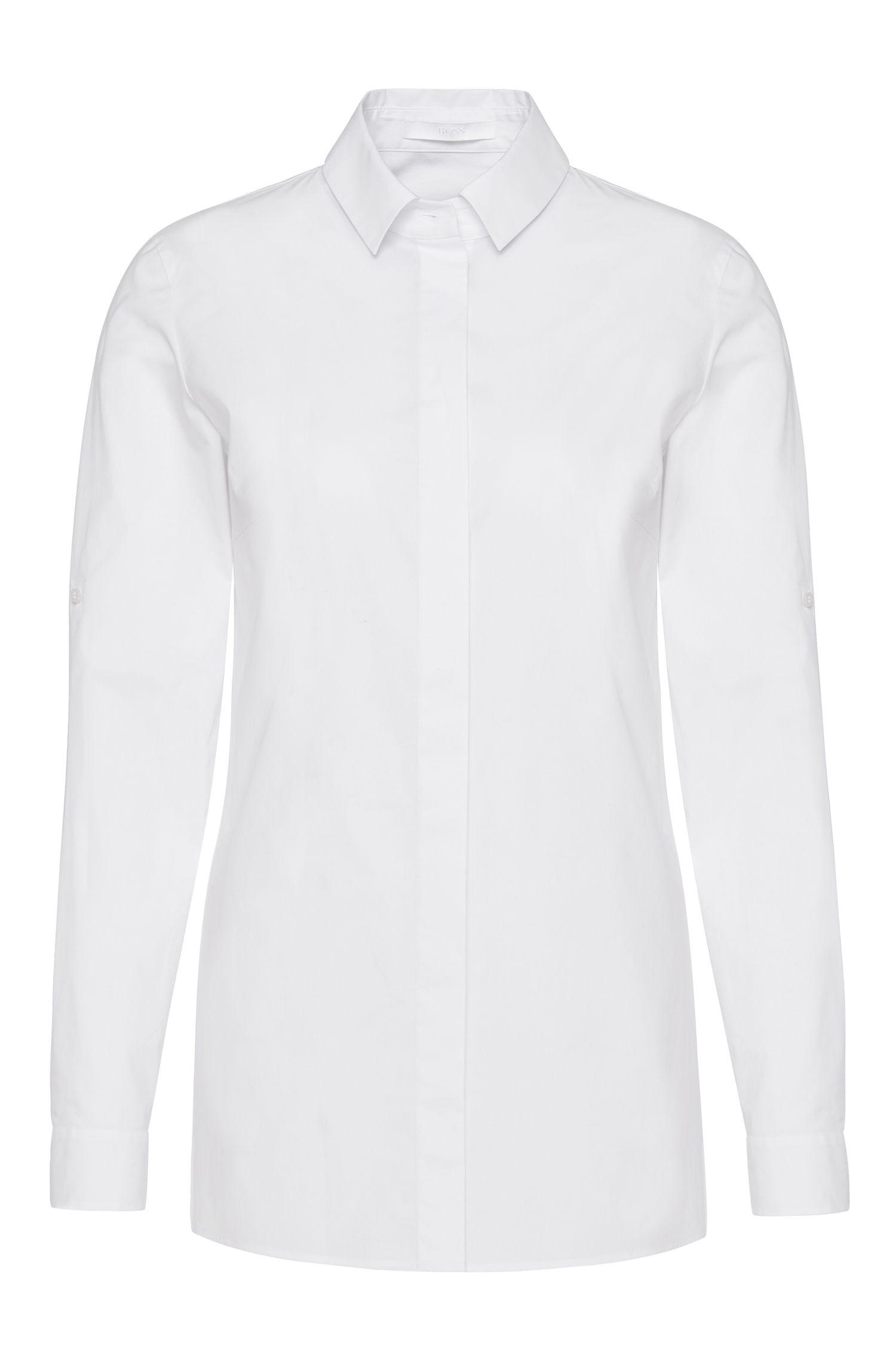 Chemisier Standard Fit en coton stretch : « Ranila »