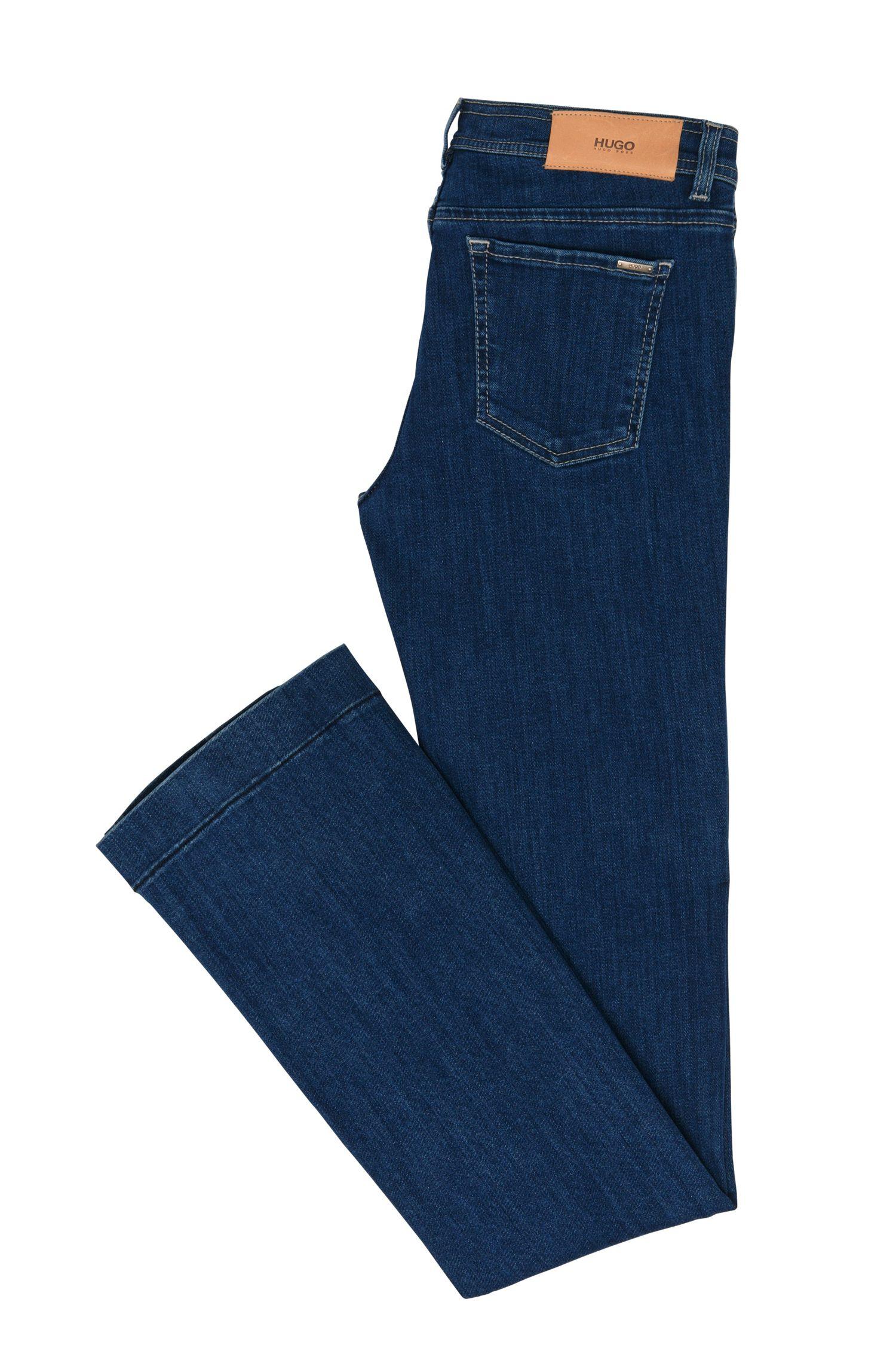 Bootcut jeans van stretchkatoen: 'Gean'