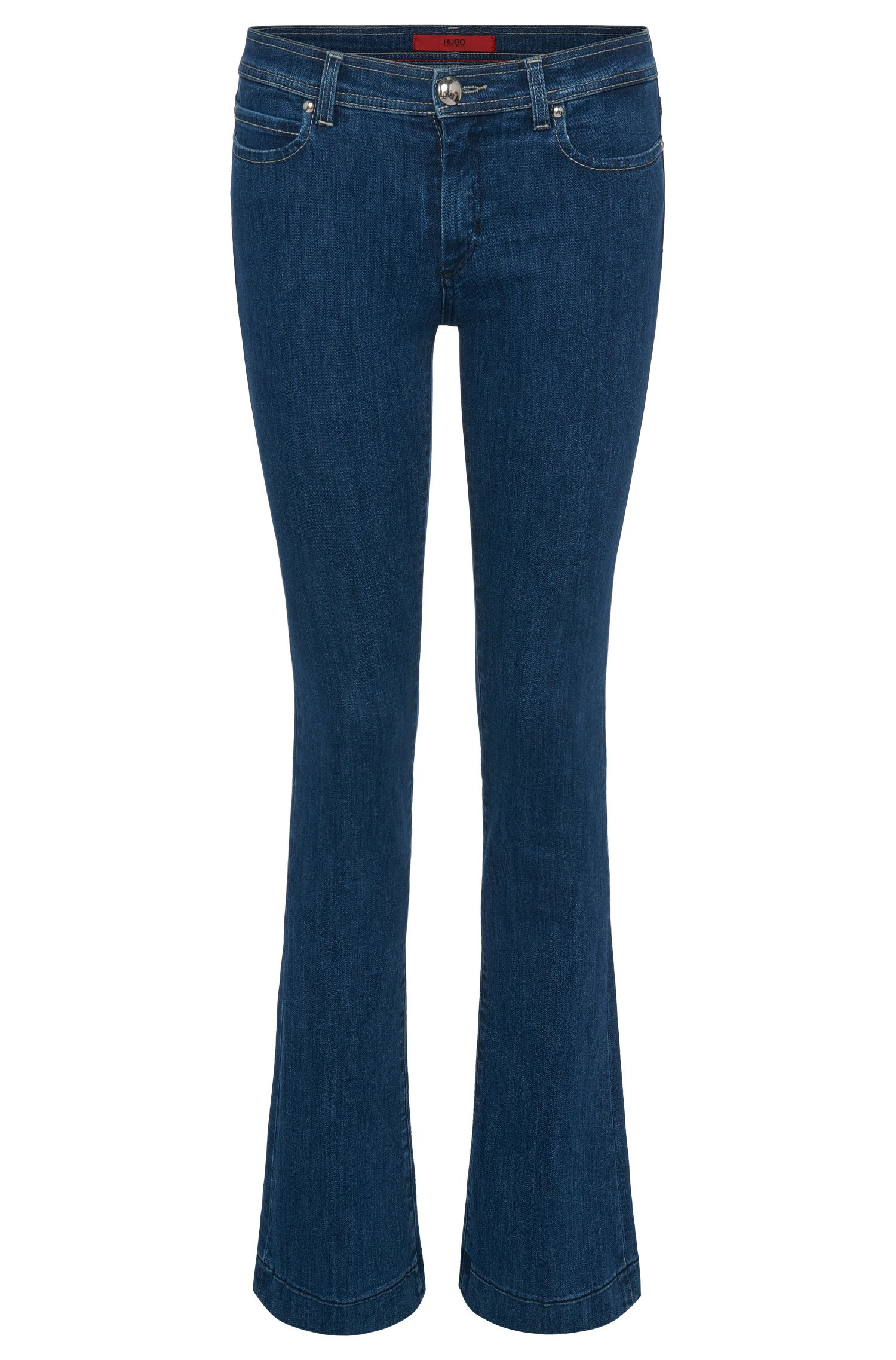 Bootcut-Jeans aus Stretch-Baumwolle: 'Gean'