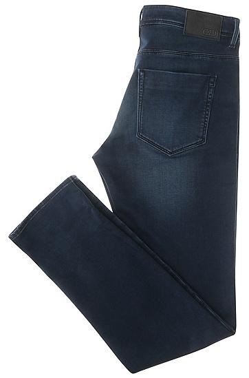 Slim-Fit Jeans aus stretchigem Baumwoll-Mix: ´Drake2`, Dunkelblau