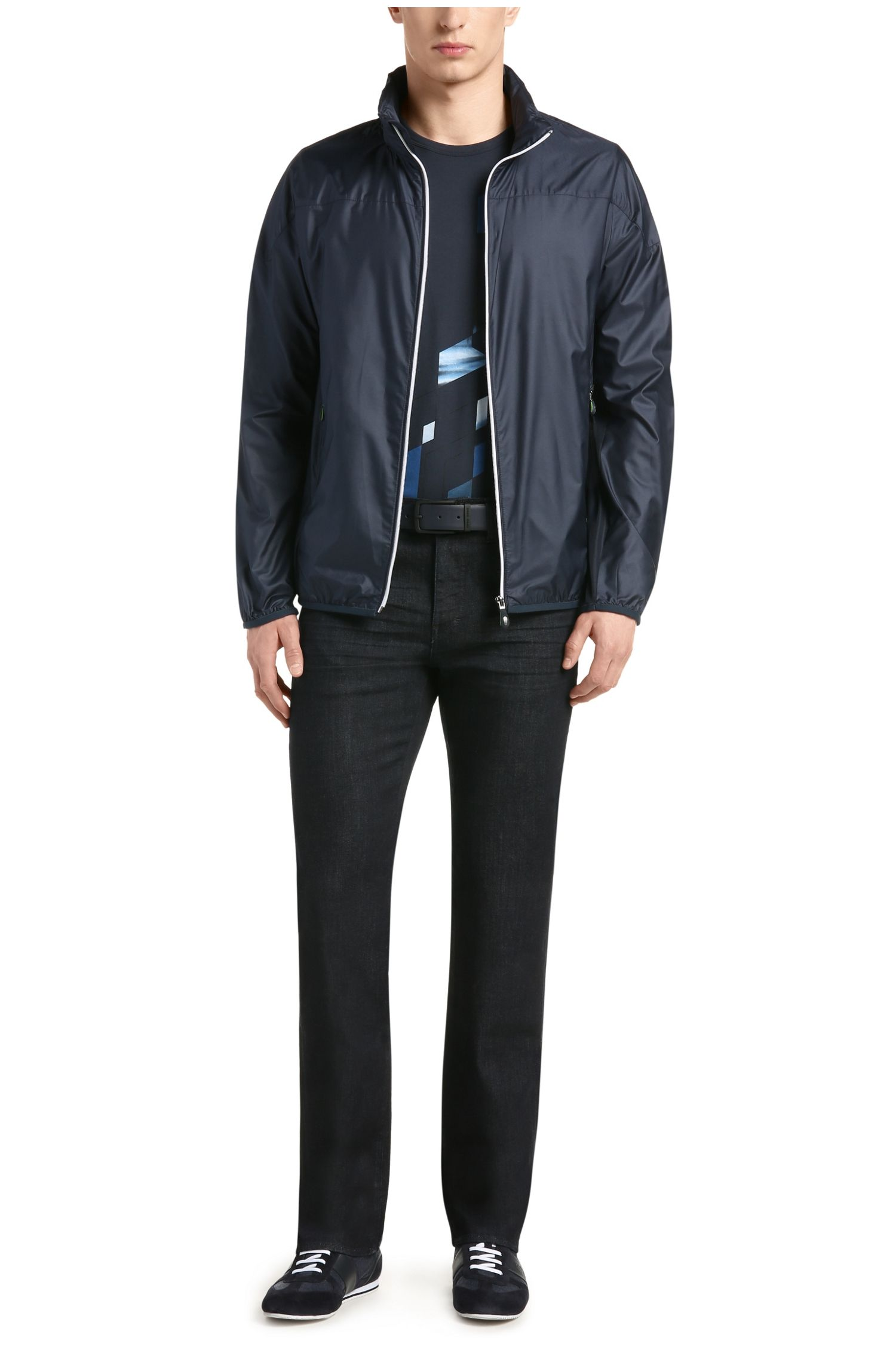 Jeans Comfort Fit en coton mélangé extensible: «C-KANSAS»