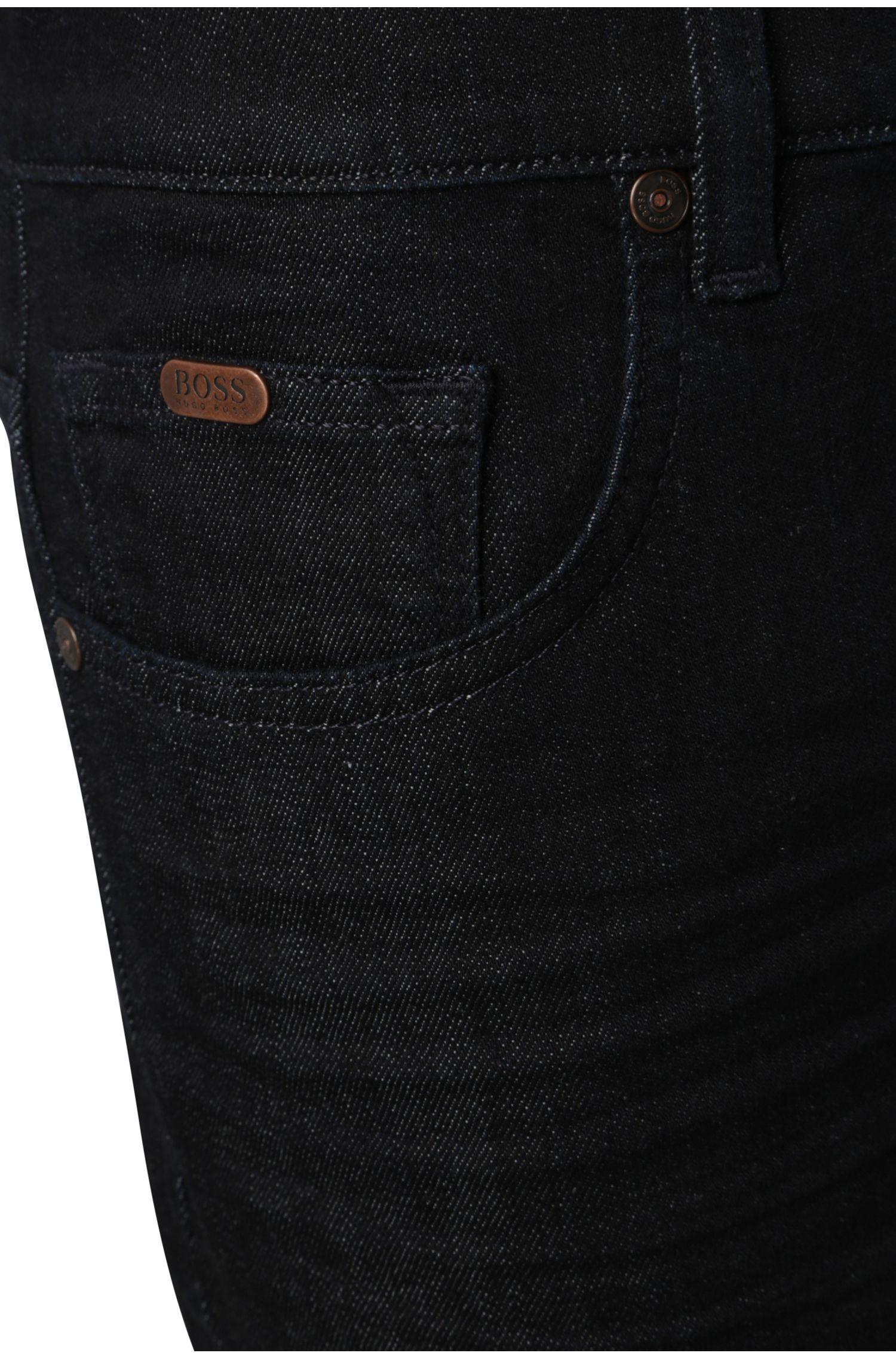 Comfort-Fit Jeans aus elastischem Baumwoll-Mix : ´C-KANSAS`