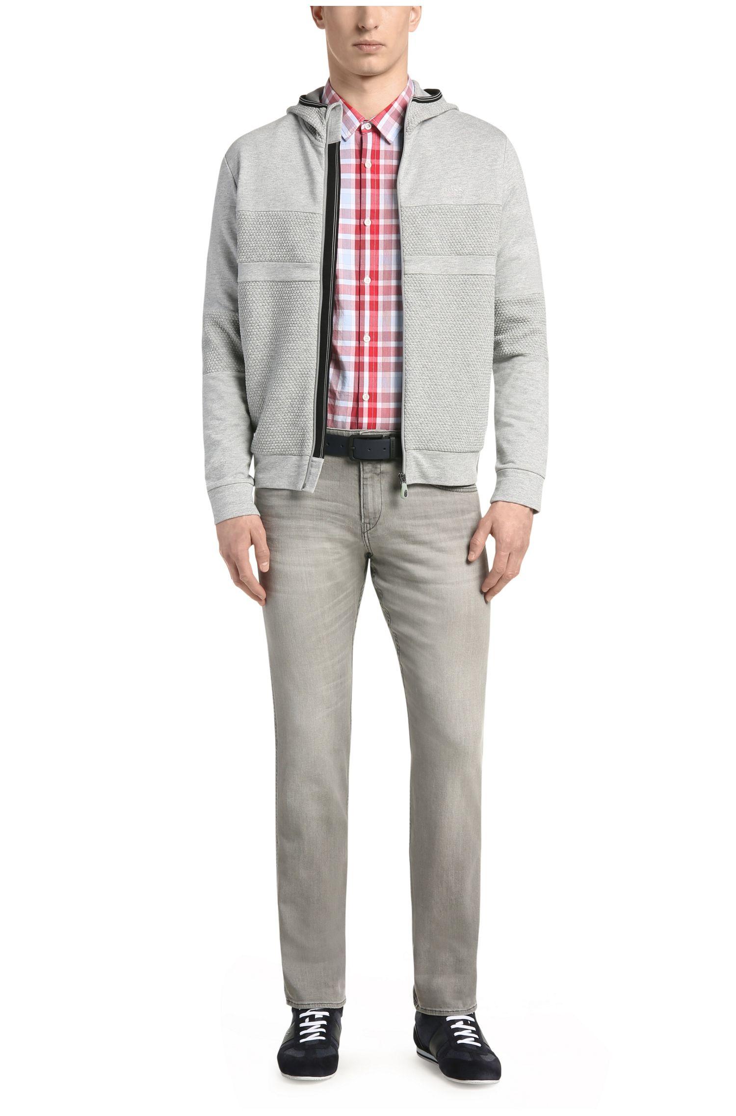 Jeans Slim Fit en coton stretch: «C-Delaware1»