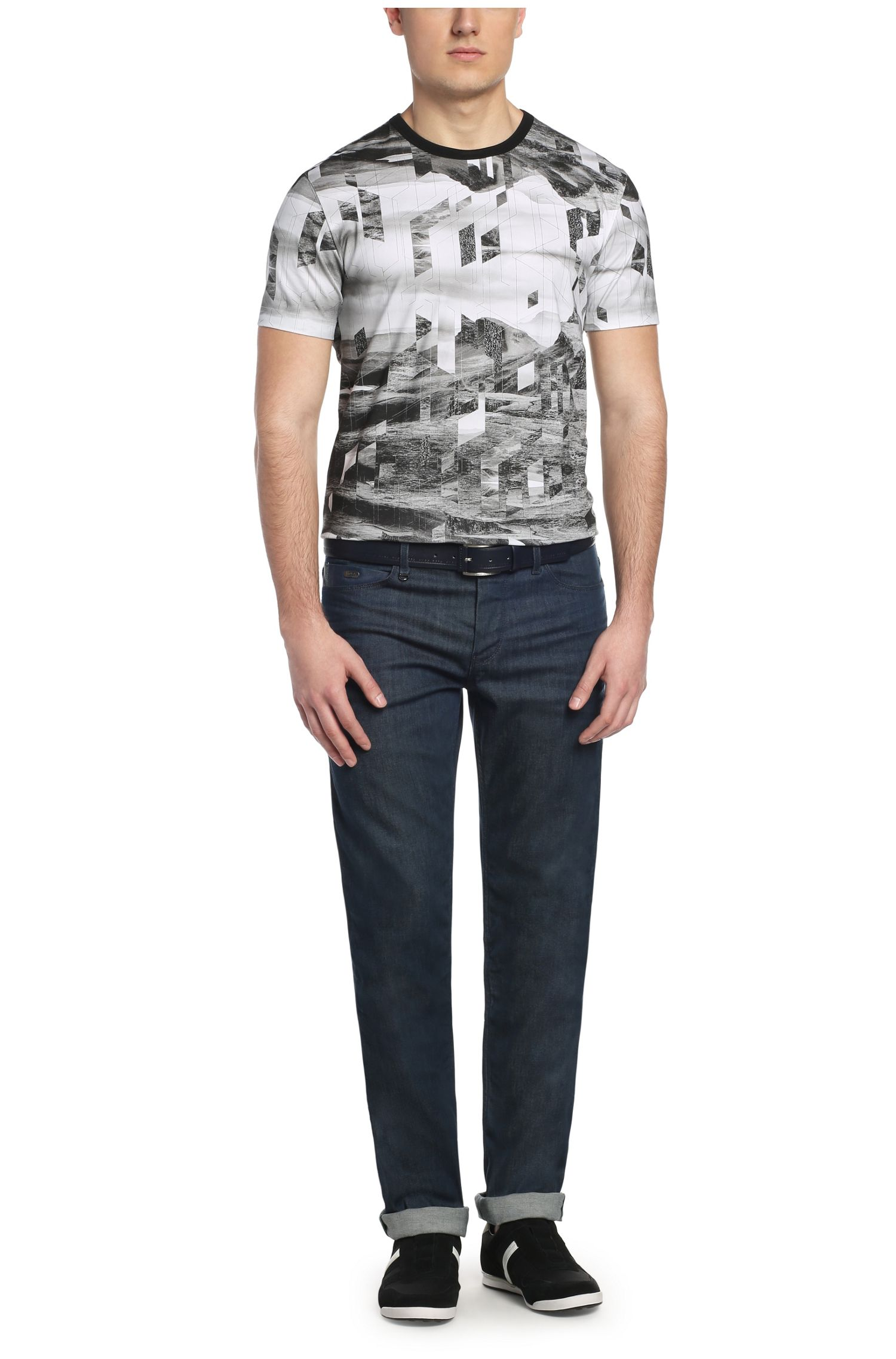 Slim-Fit Jeans aus Baumwoll-Stretch: ´Drake2`