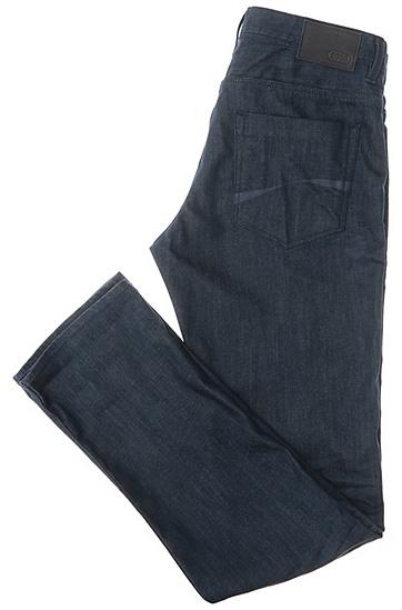 Slim-Fit Jeans aus Baumwoll-Stretch: ´Drake2`, Blau