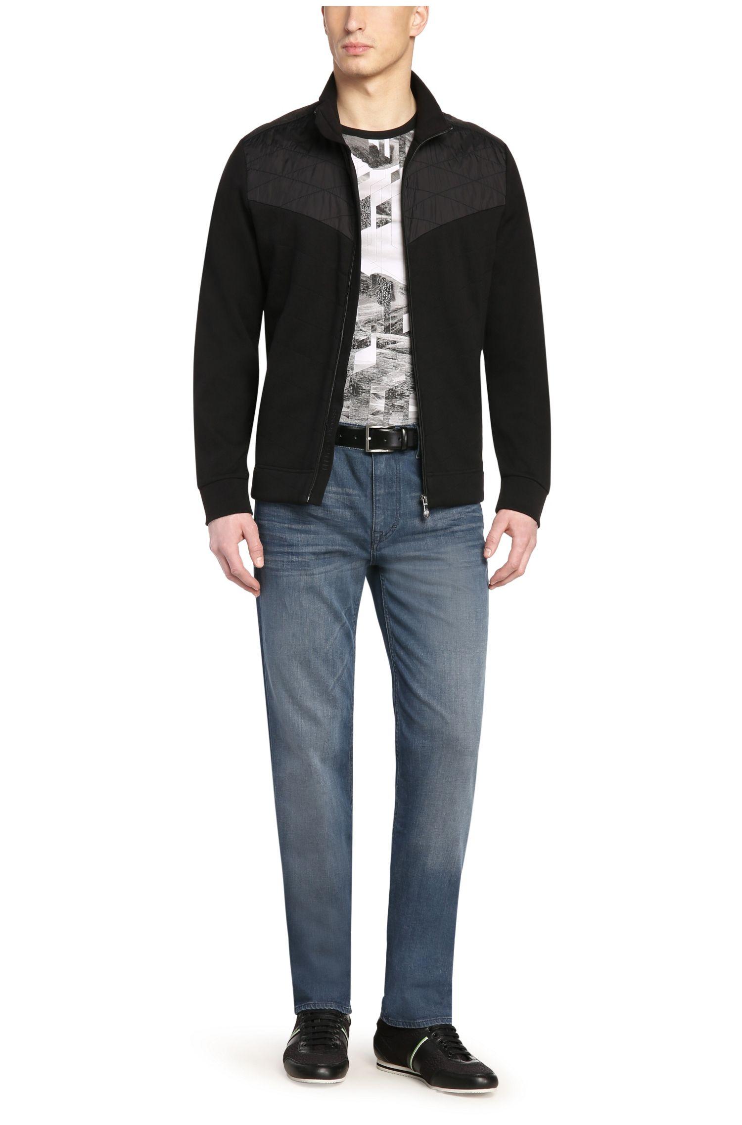 Jeans Regular Fit en coton et élasthanne: «Deam30»