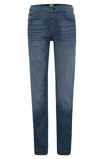 Regular-Fit Jeans aus Baumwolle und Elasthan: ´Deam30`, Hellblau