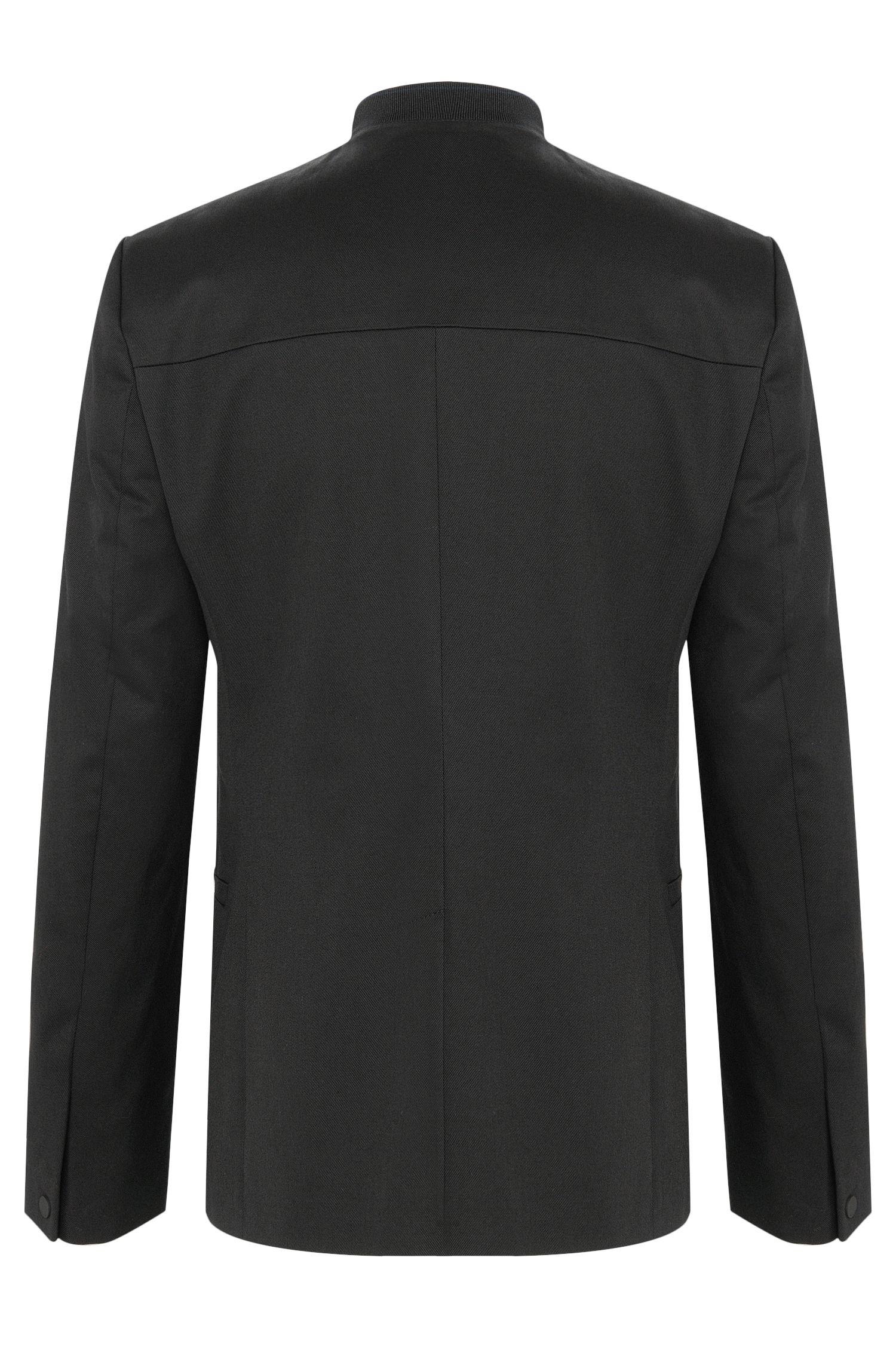 Comfort-Fit Sakko aus Stretch-Baumwolle mit Reißverschluss: 'Ablin'