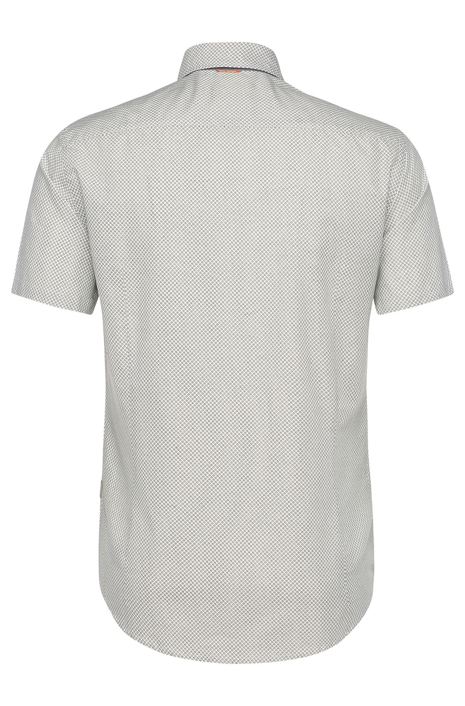 Slim-Fit Kurzarm-Hemd aus Baumwolle: ´EslimyE`
