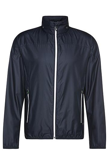 Outdoor-Jacke im Blouson-Stil: ´Jiano`, Dunkelblau