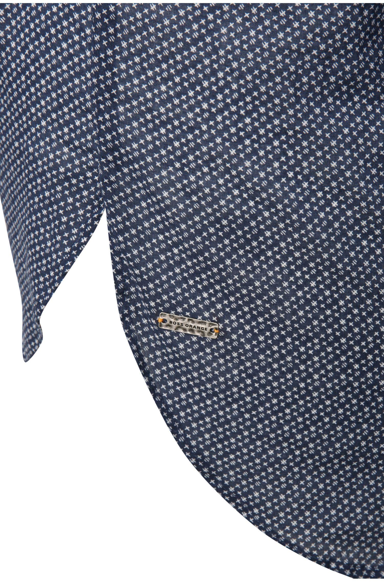 Blouse van katoen met een tuniekkraag: 'Efivee_6'