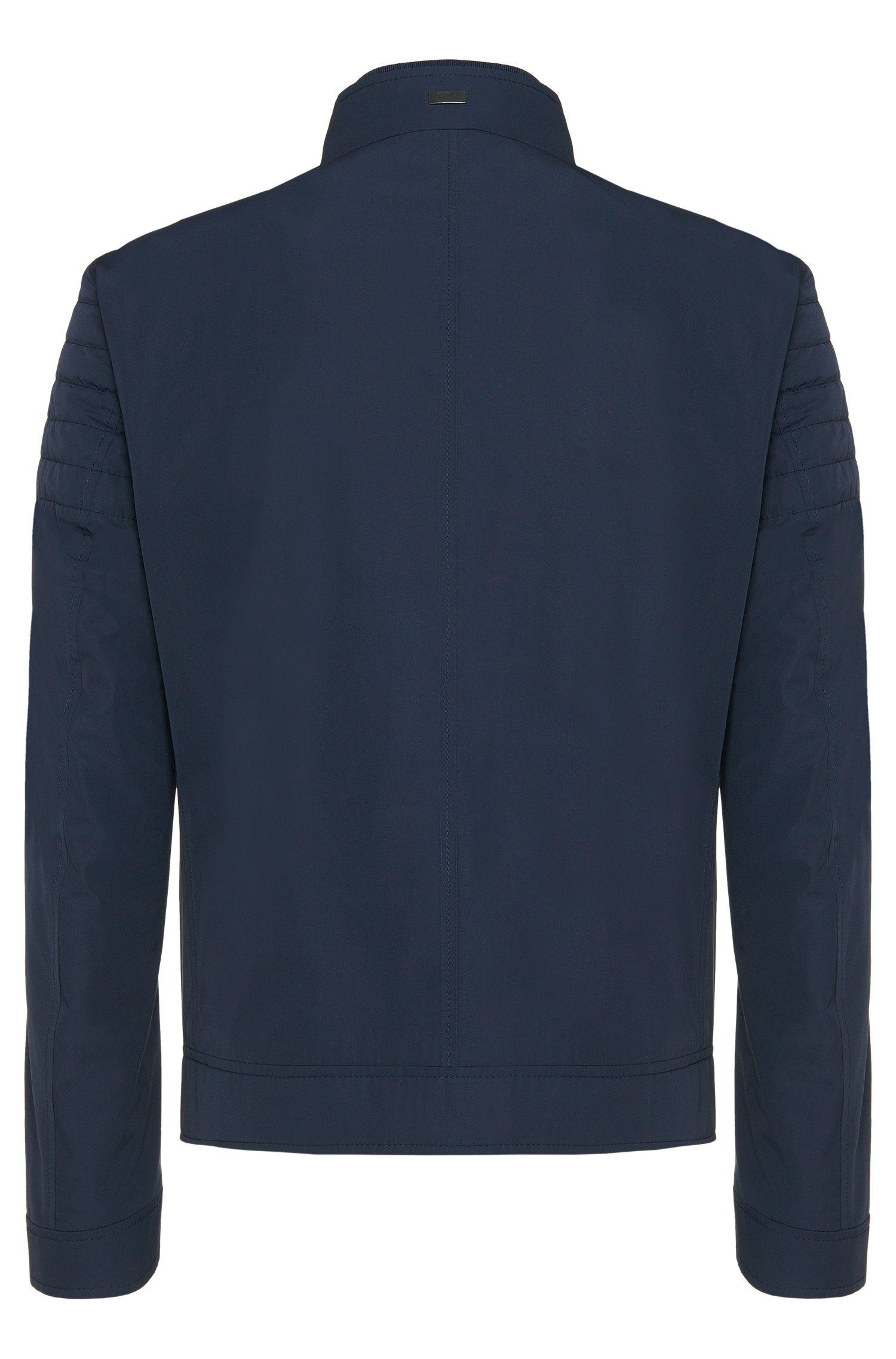Regular-fit jas met gewatteerde gedeelten: 'Cuinn1'