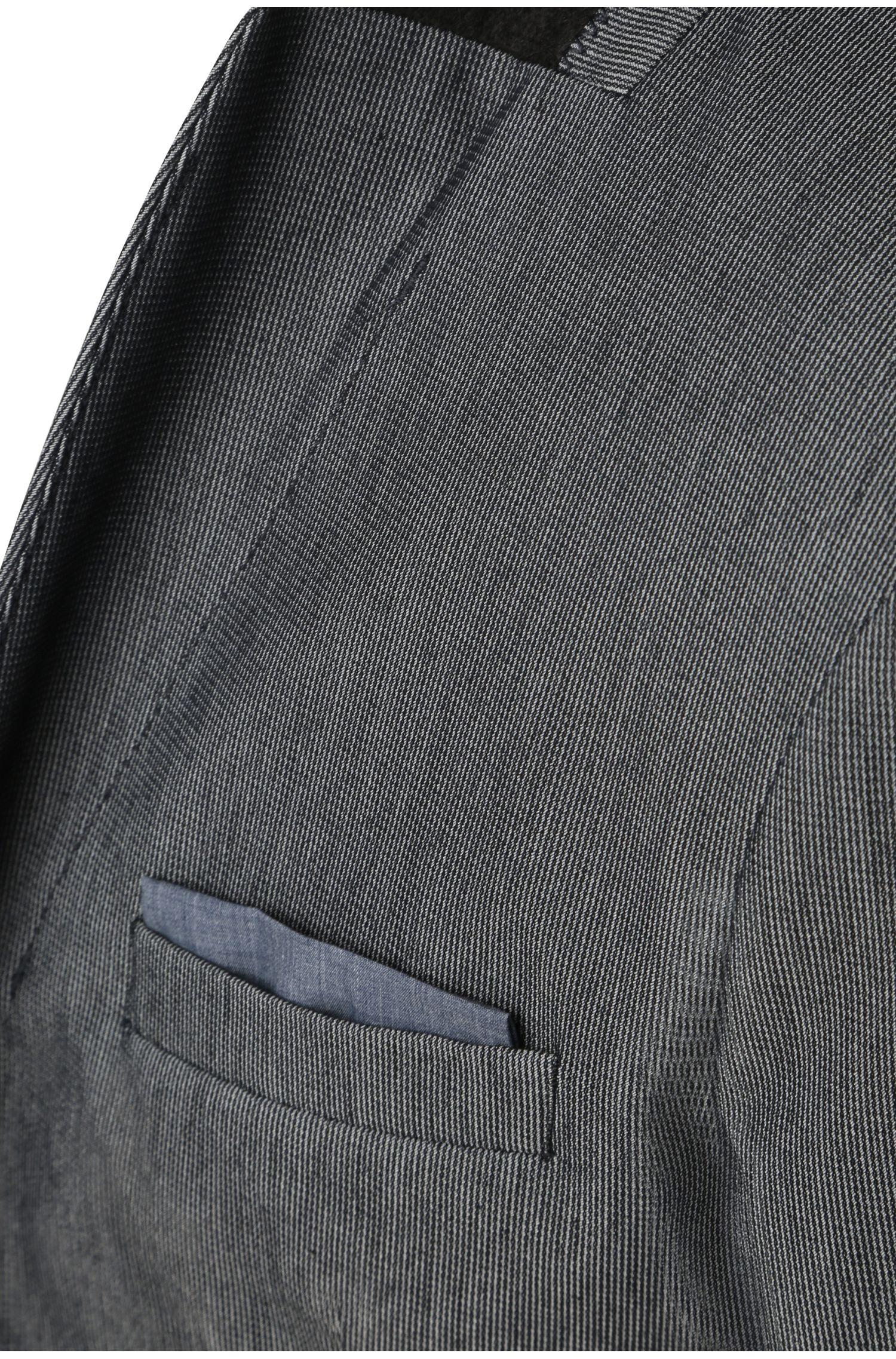 Slim-fit colbert van een elastische katoenmix: 'Benestretch4'
