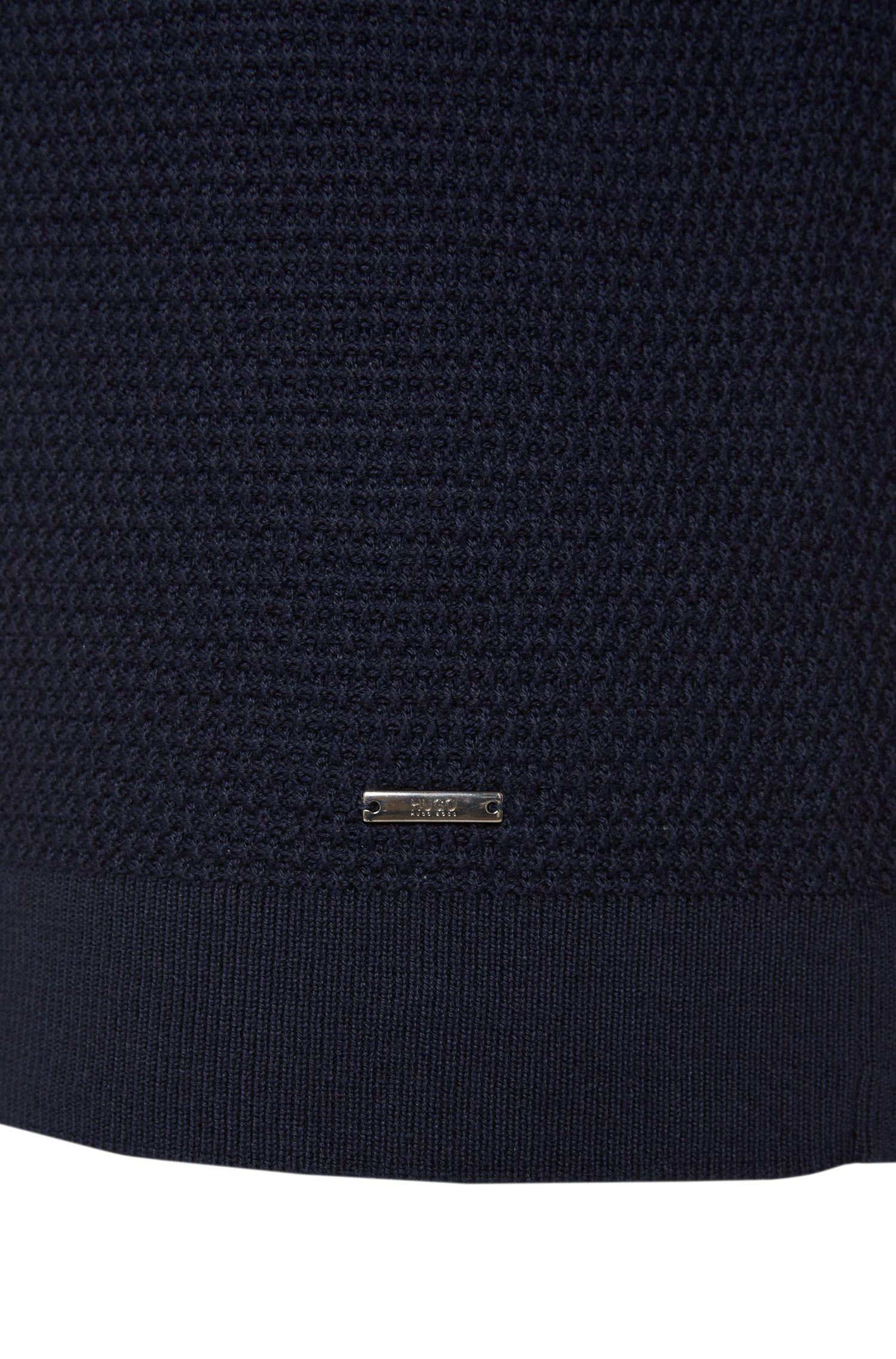 Loose-Fit Pullover aus Baumwoll-Mix mit Seide und Kaschmirwolle: 'Sorito'