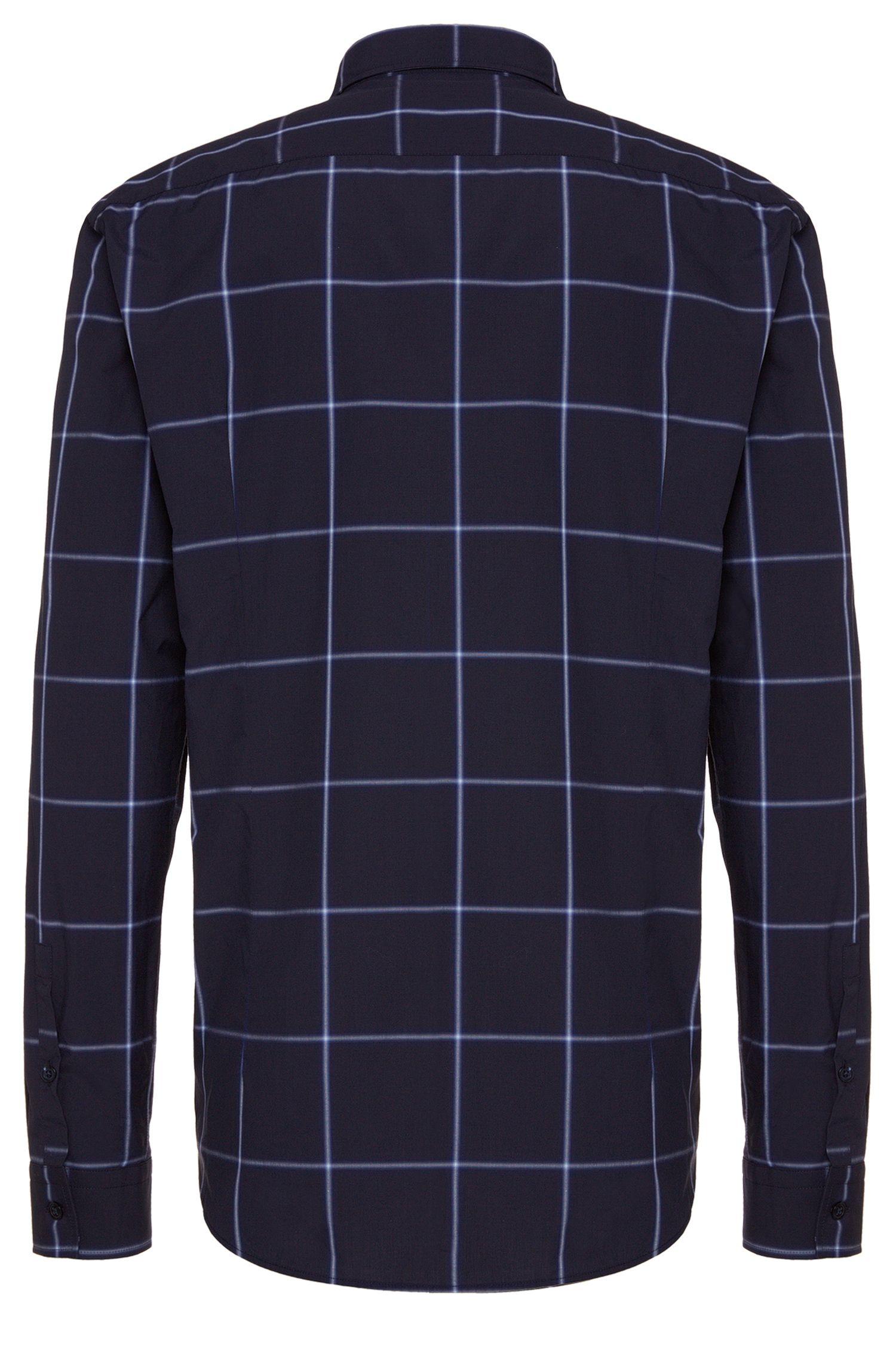 Kariertes Slim-Fit Hemd aus Baumwolle: 'Ridley_F'