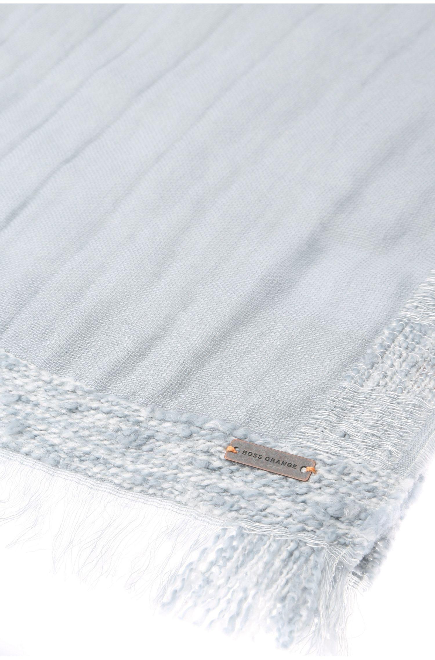 Schal aus Baumwoll-Mix mit Viskose: ´Nesh`