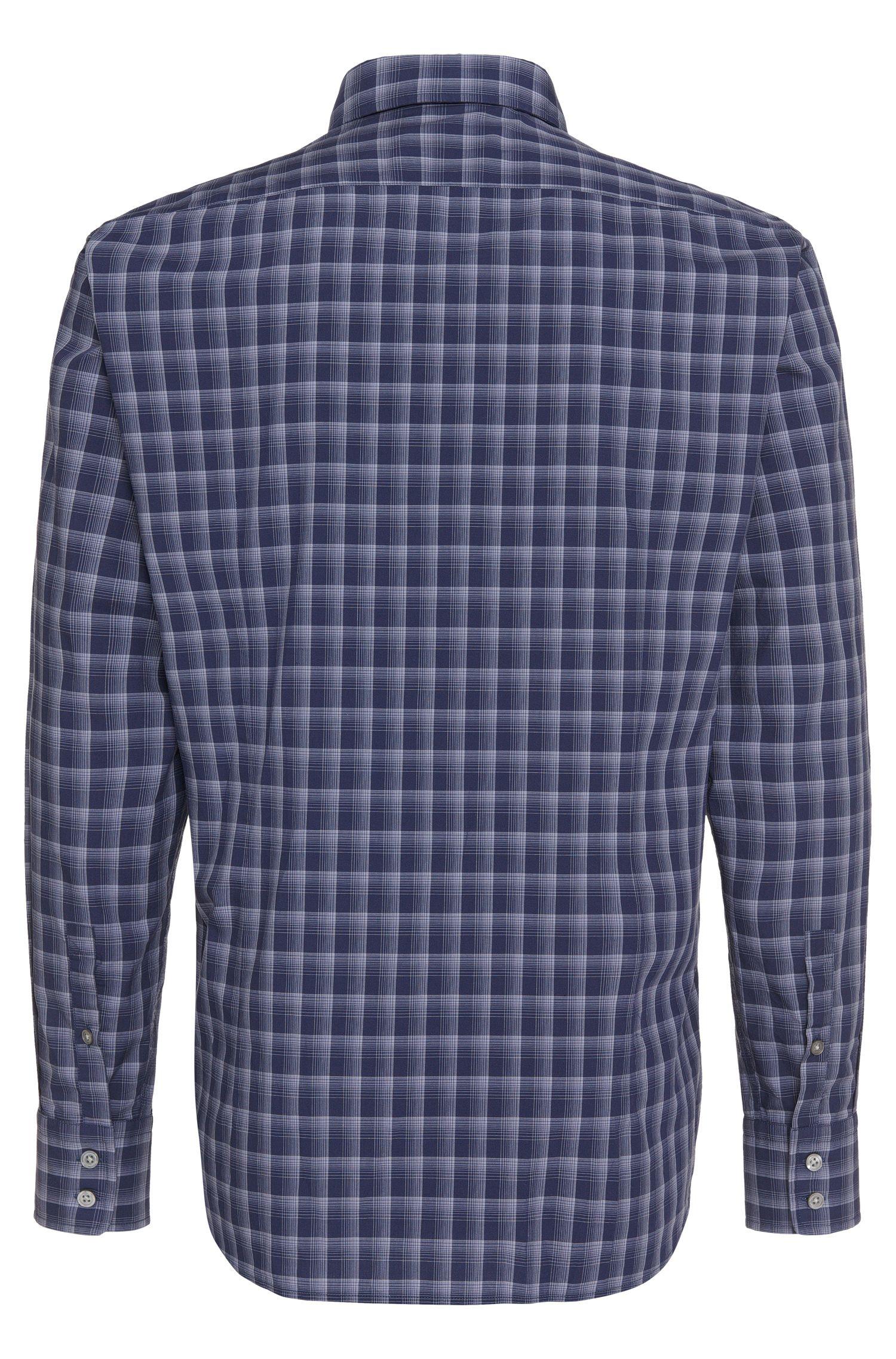 Kariertes Regular-Fit Hemd aus Baumwolle: 'Lukas_5'