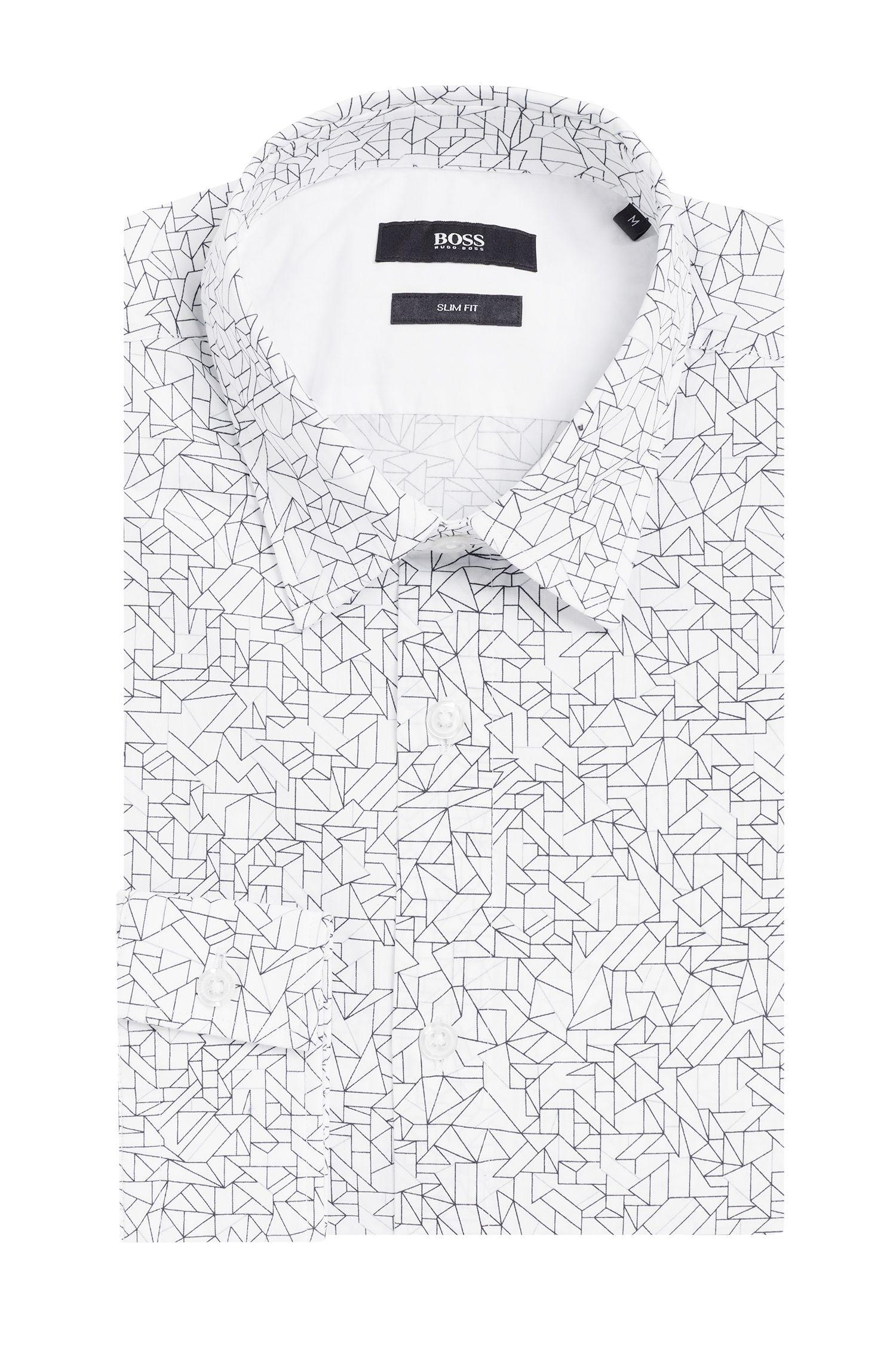 Slim-Fit Hemd aus Baumwolle: 'Ronni_5F'