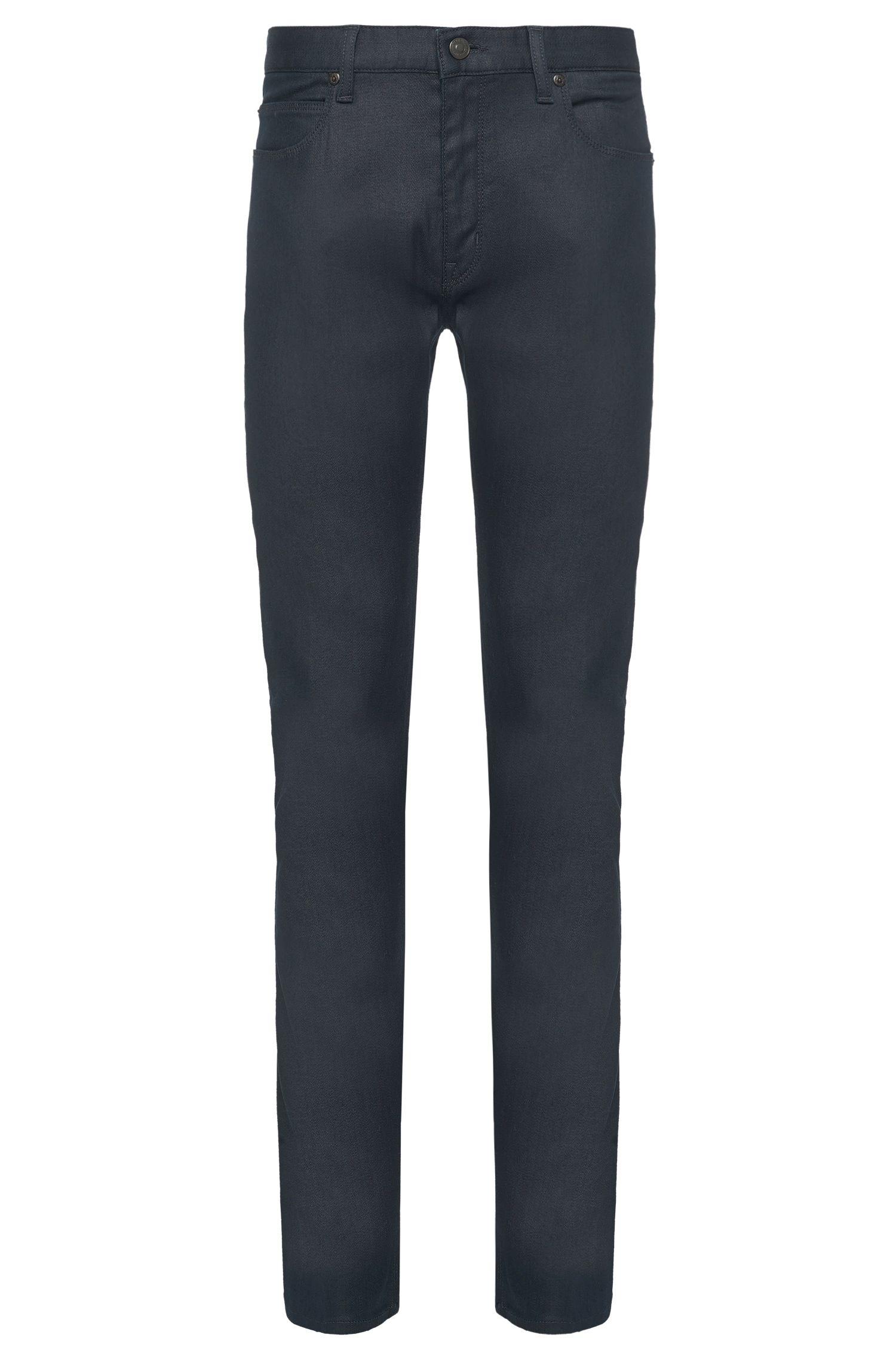 Jeans slim fit in misto cotone elasticizzato: 'HUGO 708'