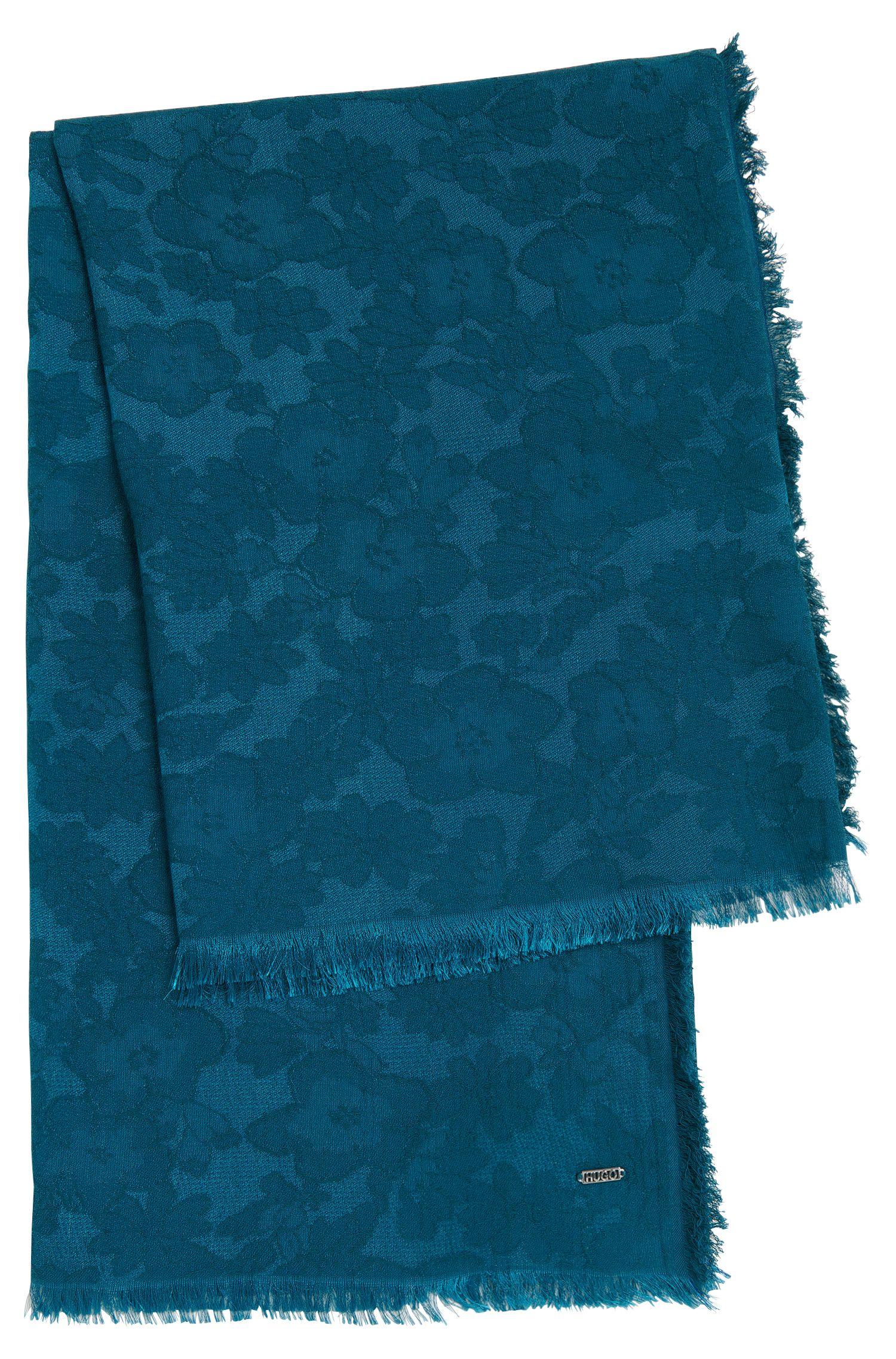 Foulard carré en coton mélangé à motif: «Women-Z518»