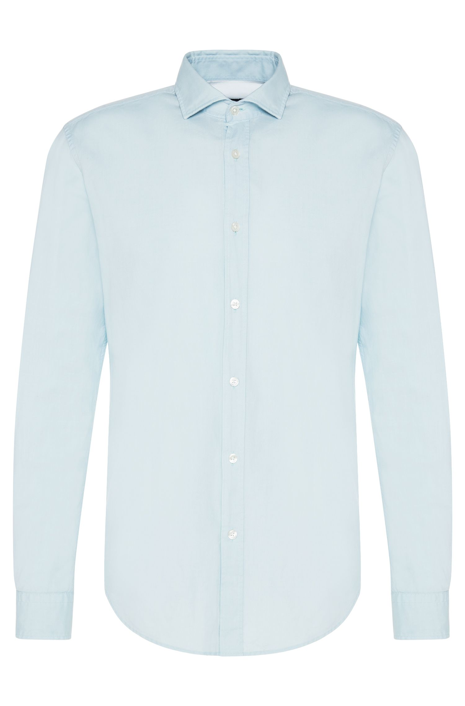 Camicia slim fit in puro cotone: 'Ridley_5'