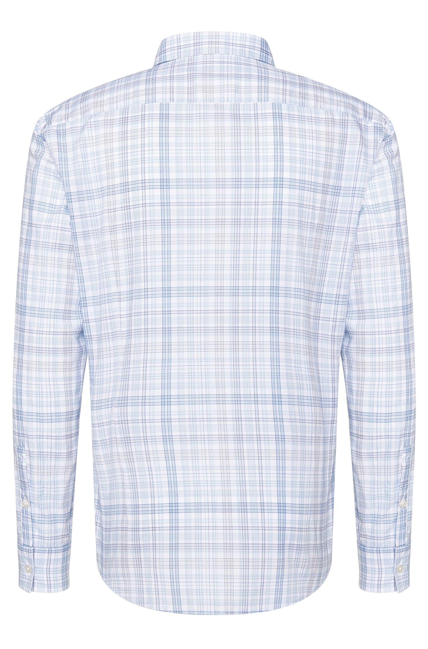 Chemise Slim Fit à carreaux en coton: «Ronni_5»