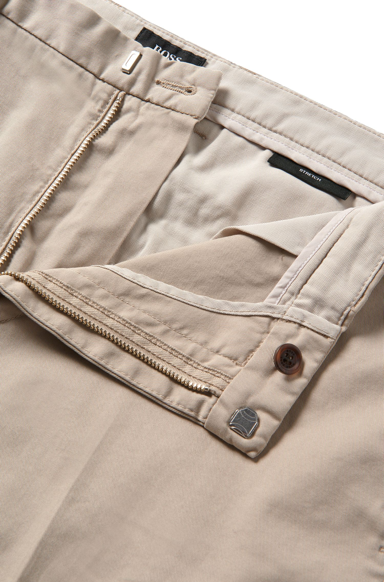 Chino Slim Fit en coton stretch: «Kaito3-D»