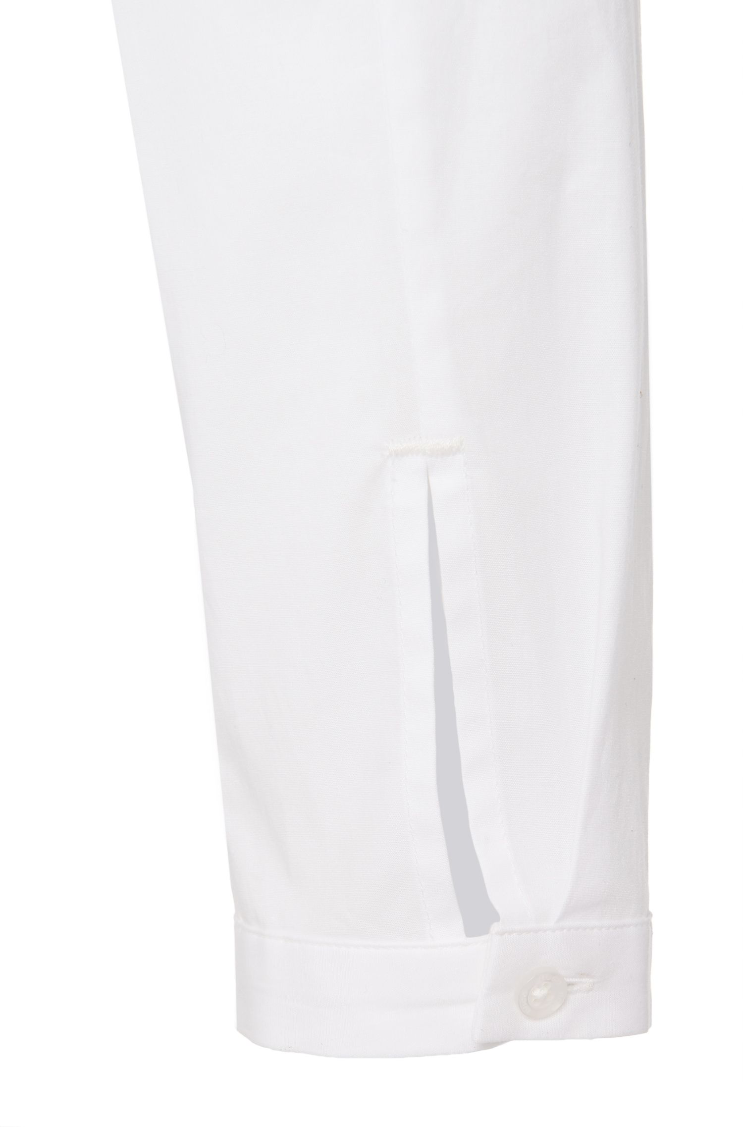Leicht taillierte Bluse aus Stretch-Baumwolle: 'Edyel'