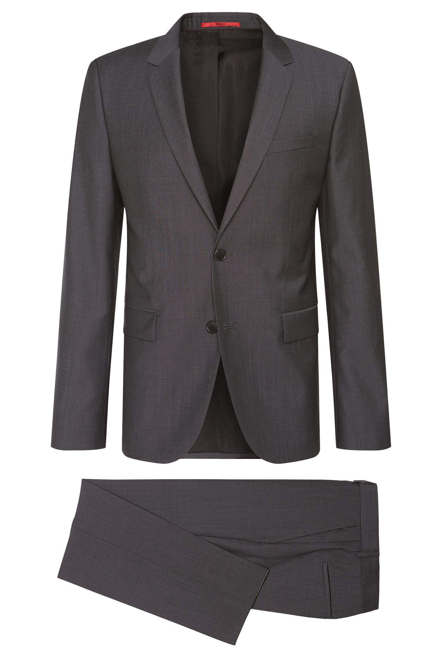 Slim-fit suit in new wool: 'Aeron2/Hamen2'