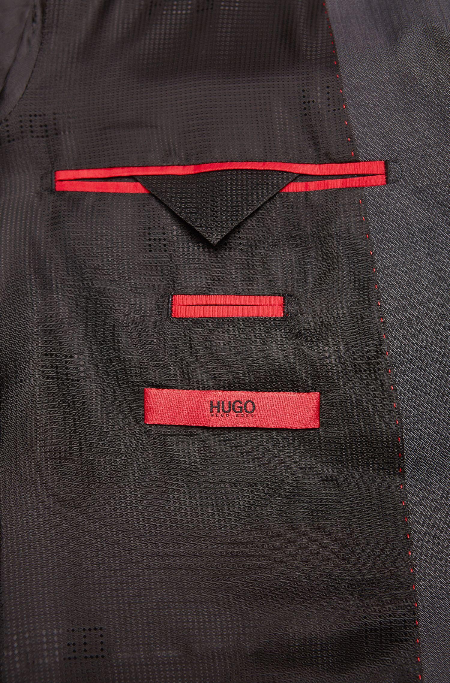 Costume Slim Fit en laine vierge: «Aeron2/Hamen2»
