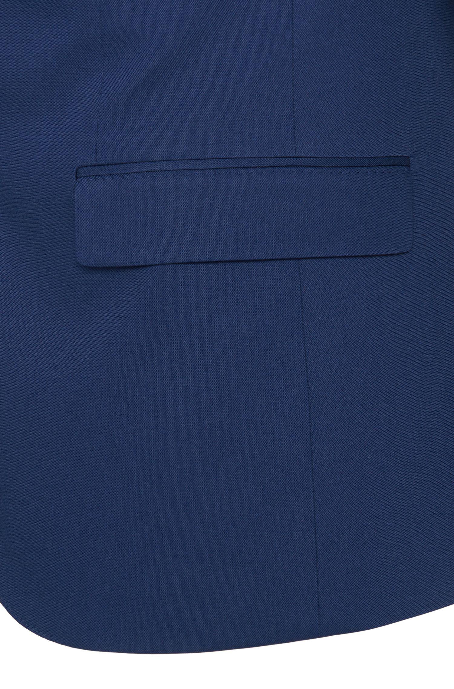 Extra Slim-Fit Sakko aus elastischem Baumwoll-Mix: 'Arti'