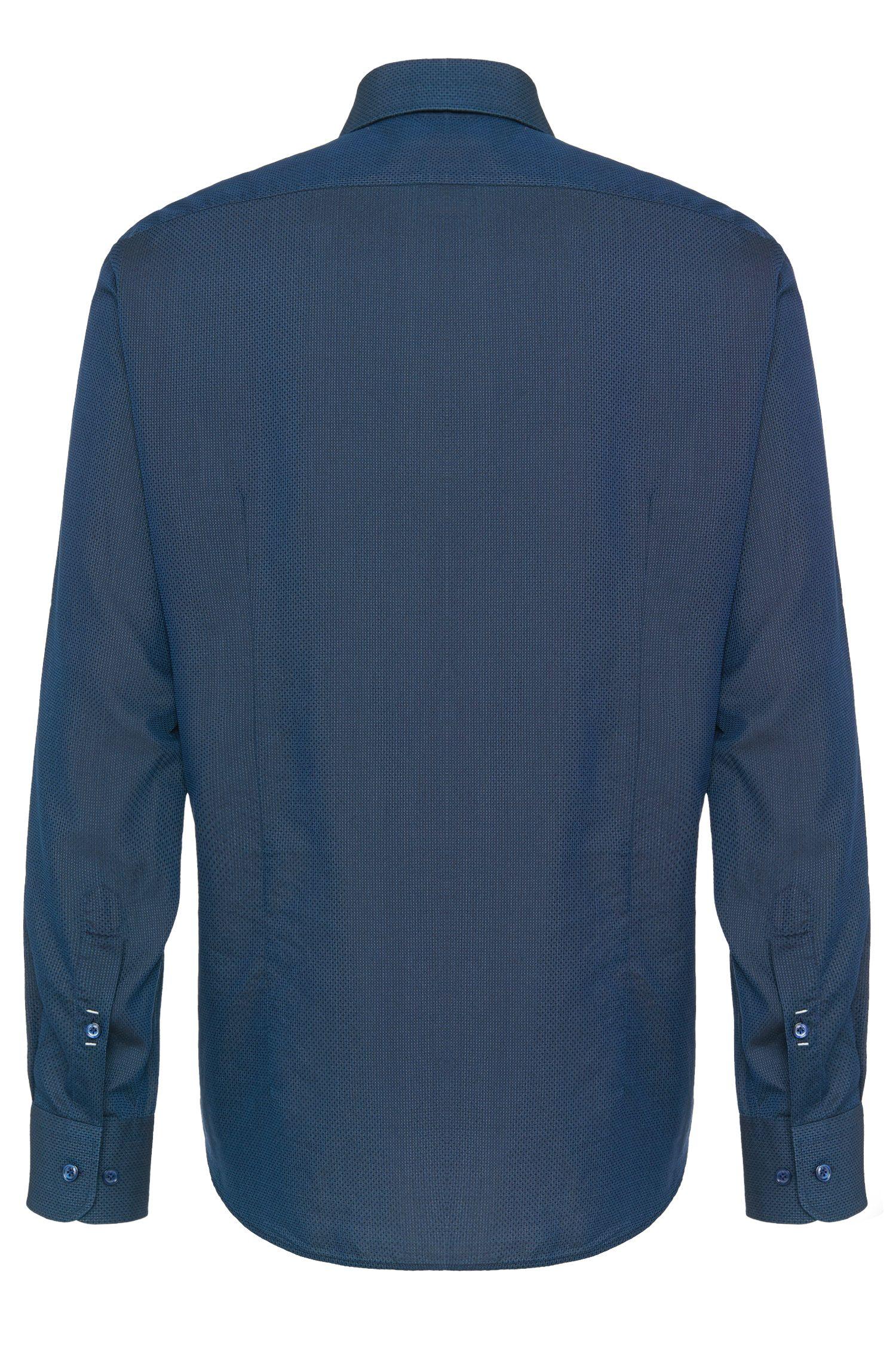 Regular-Fit Hemd aus Baumwoll-Seiden-Mix: 'T-Landon 2'