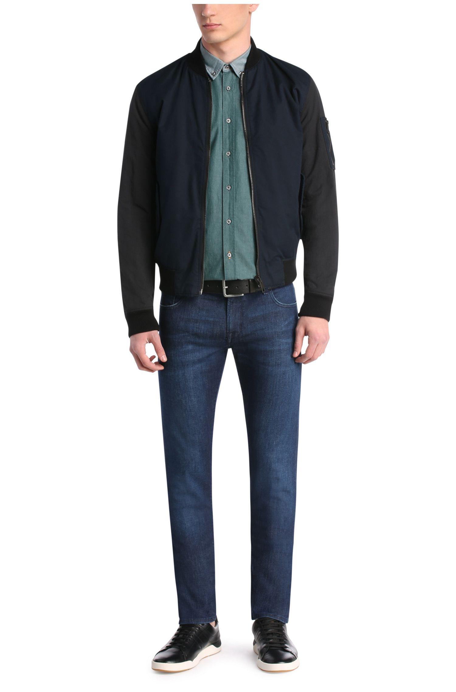 Extra slim-fit jeans van een elastische katoenmix: 'Orange71'