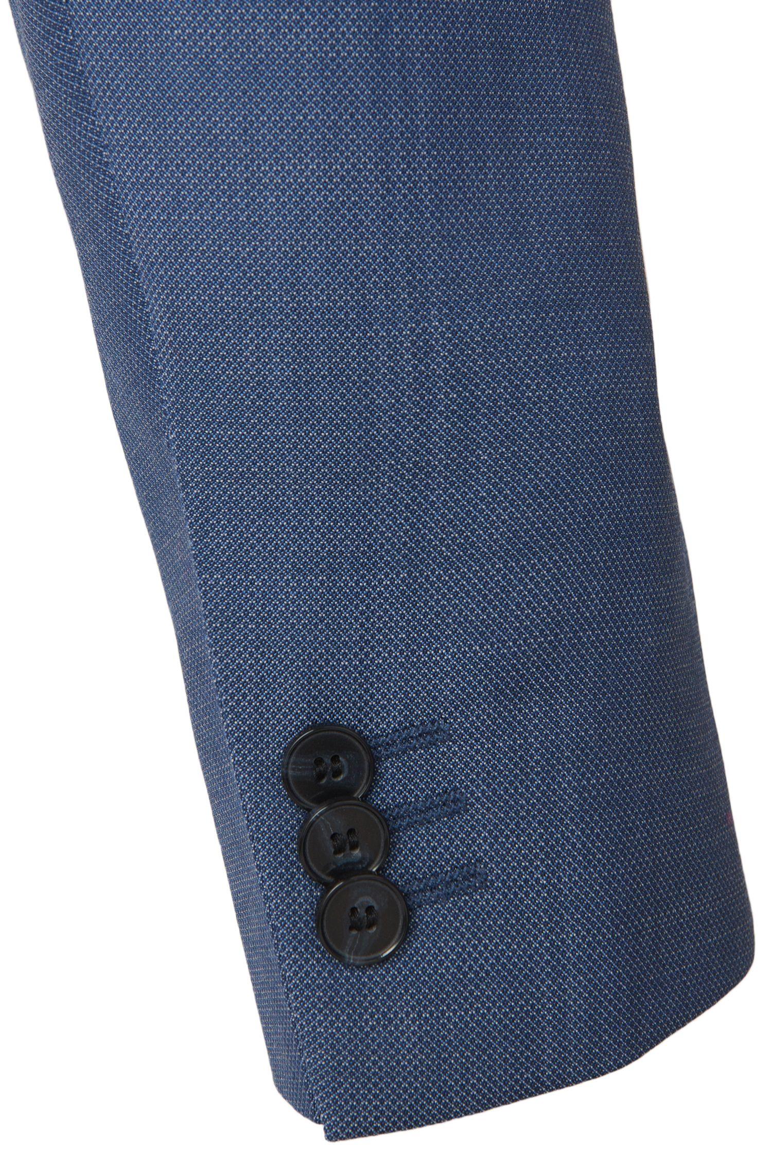 Slim-Fit Anzug mit Weste aus Schurwolle: 'Alin/Wyns/Hetlin'