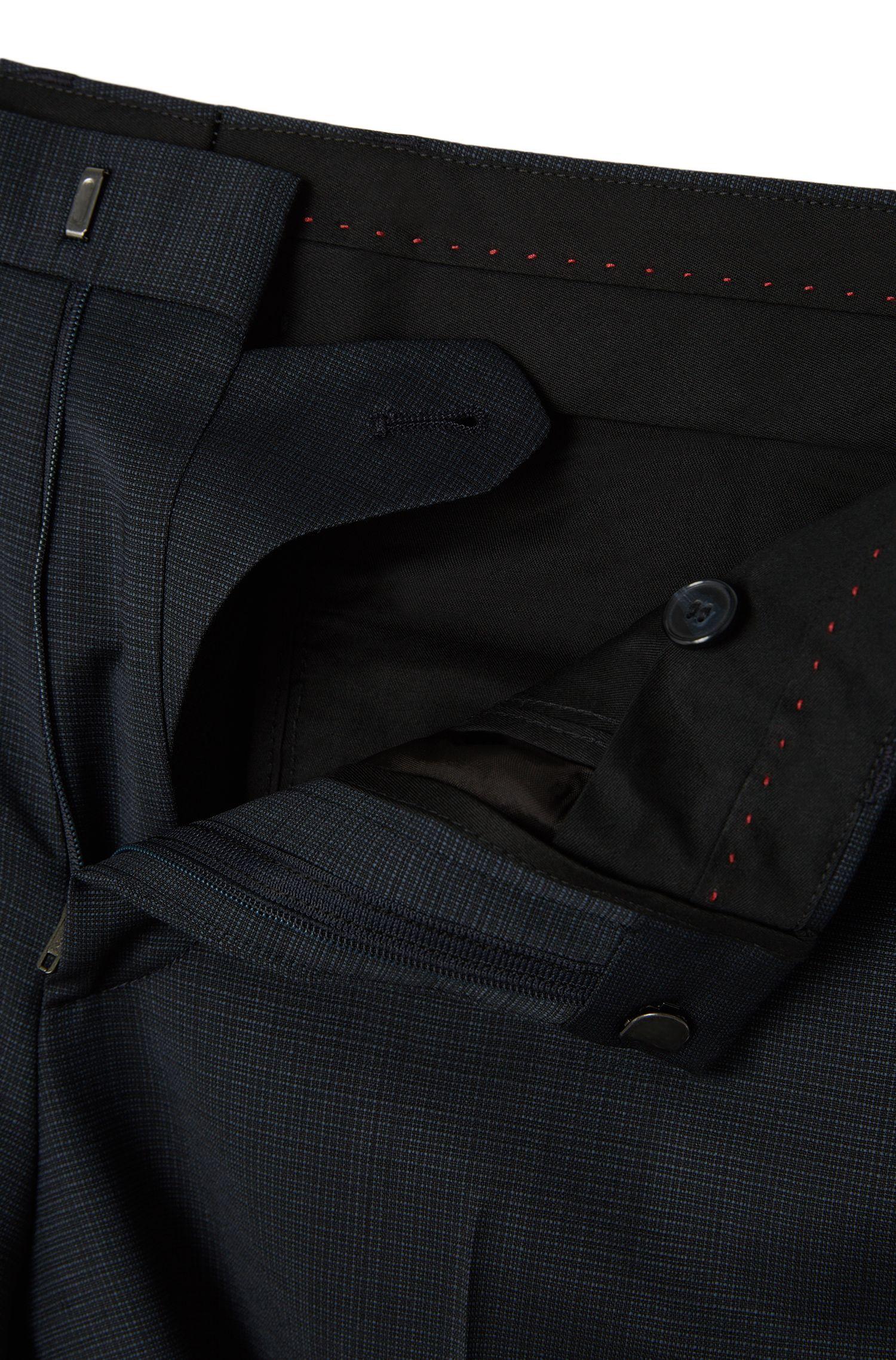 Slim-Fit Anzug mit Weste aus Stretch-Schurwolle: 'Alin/Wyns/Hetlin'
