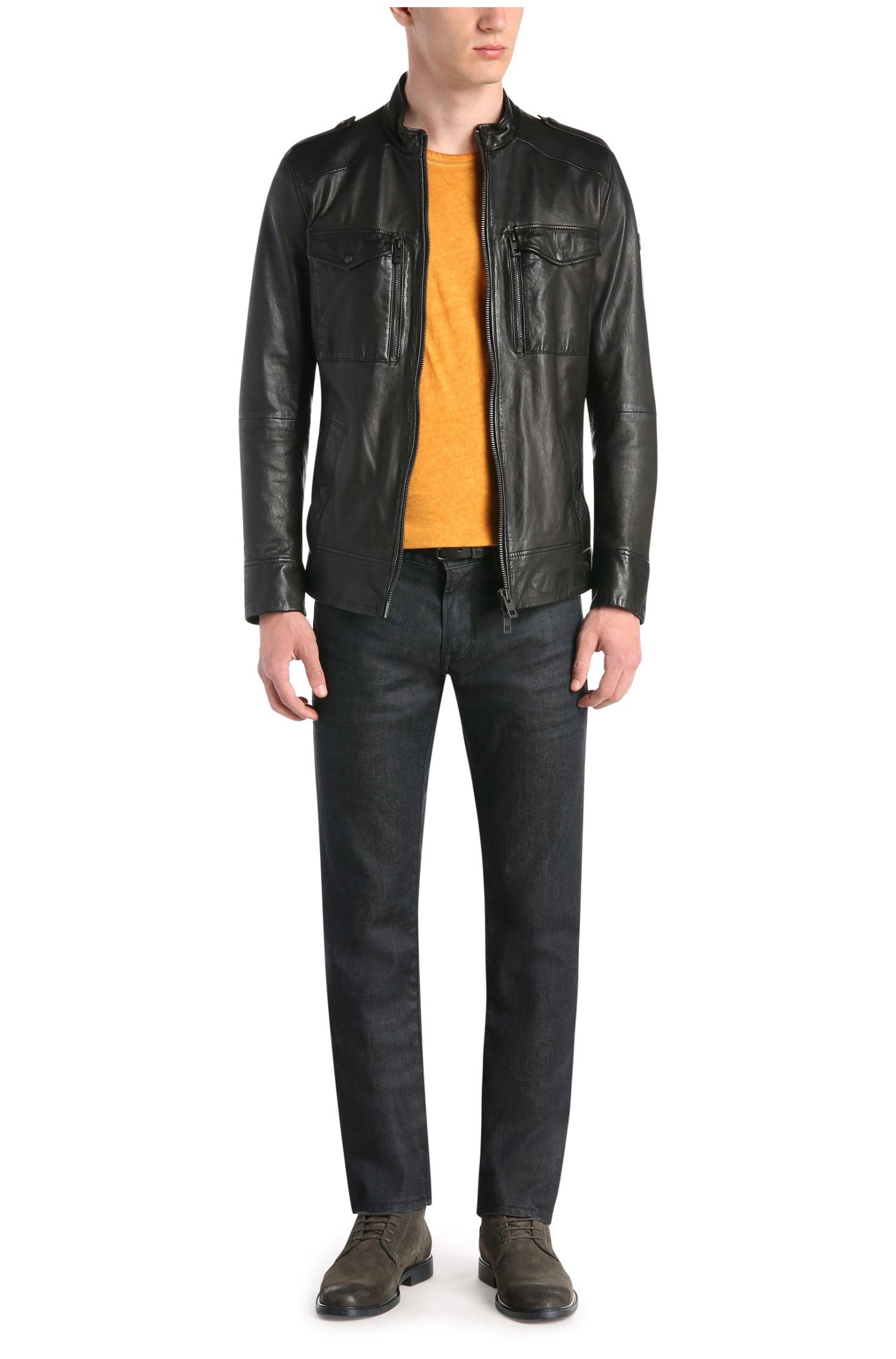 Jeans Regular Fit en coton stretch: «Orange24Barcelona»