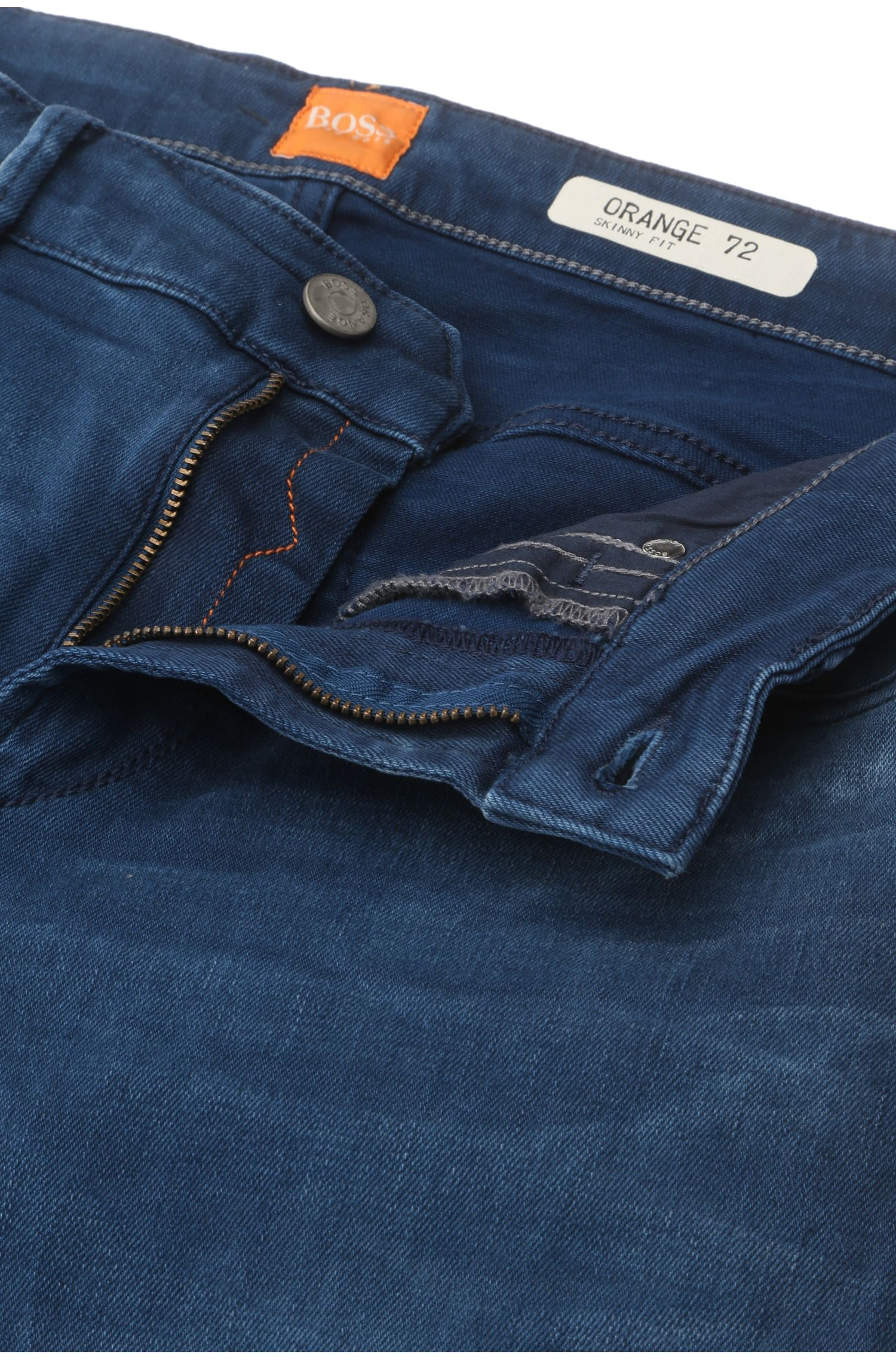 Extra Slim-Fit Jeans aus Stretch-Baumwolle: ´Orange72`
