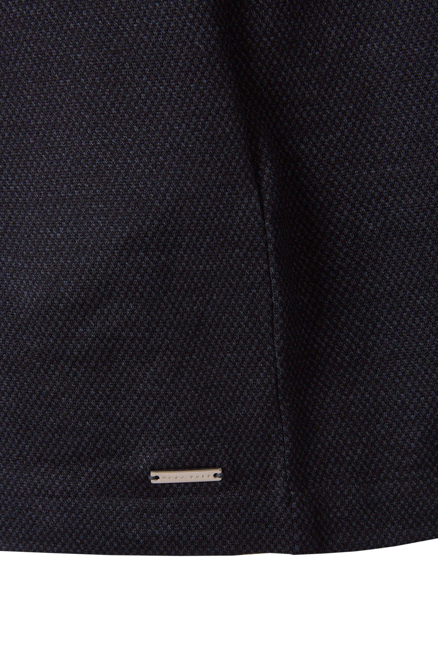 Slim-Fit Poloshirt aus Baumwoll-Mix mit Seidenanteil: 'T-Preston 06'