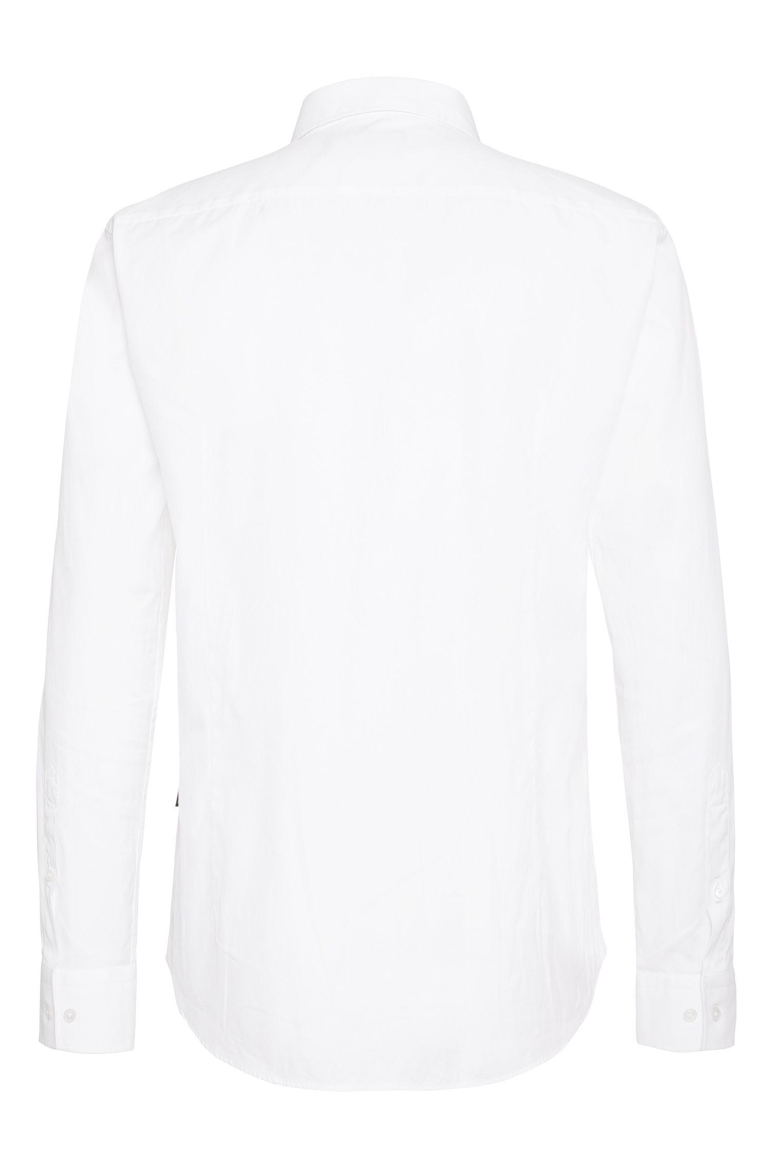 Slim-fit overhemd van katoen: 'T-Randolph_2'