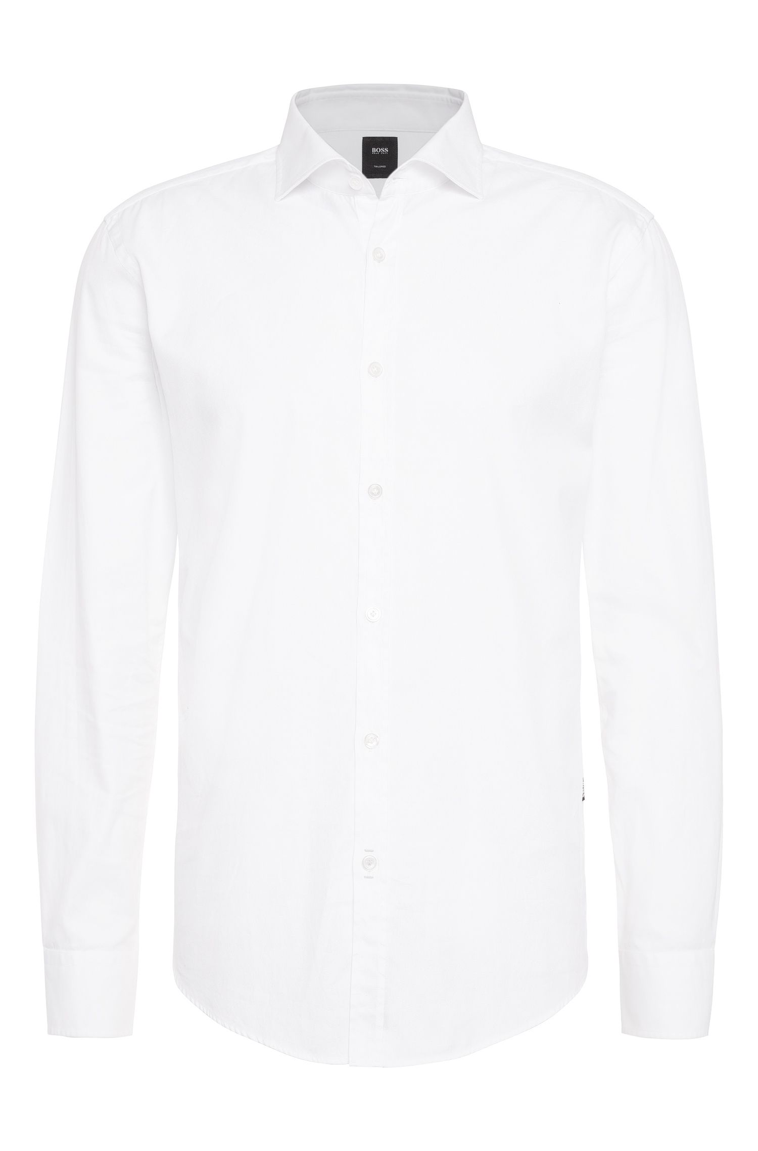 Slim-fit shirt in cotton: 'T-Randolph_2'