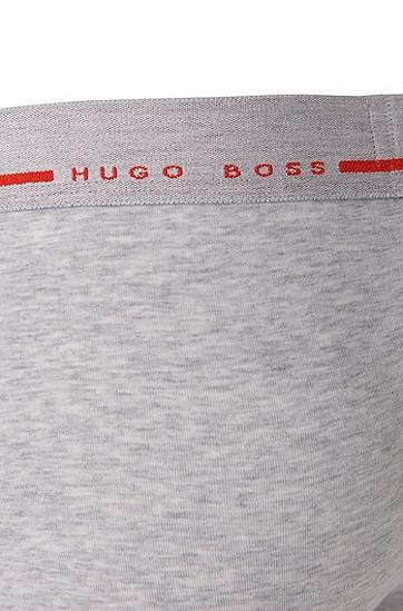 Boxershorts aus Stretch-Baumwolle: 'Cyclist 24 Logo', Grau