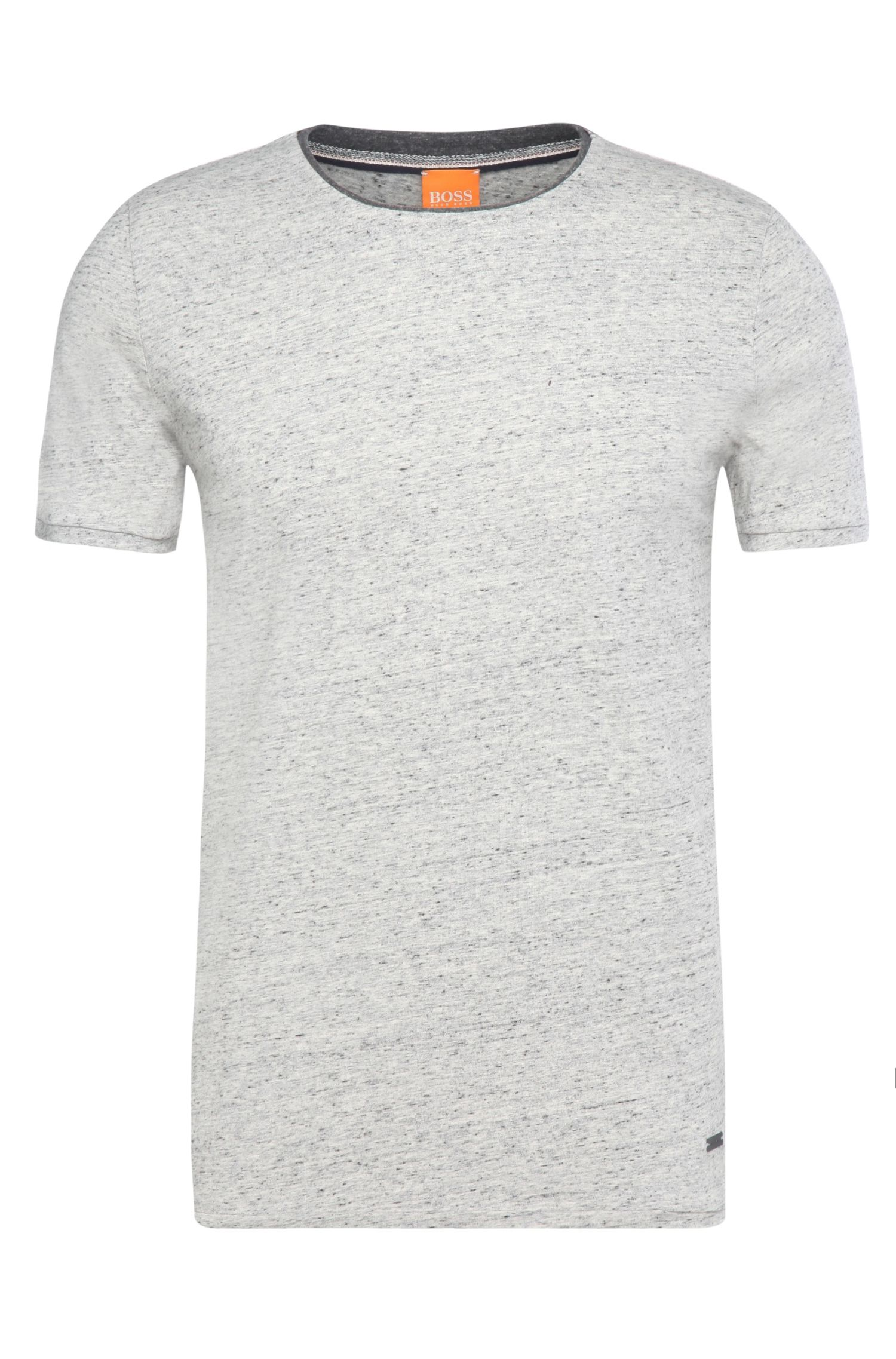 Regular-Fit T-Shirt aus reiner Baumwolle: ´Twidget`