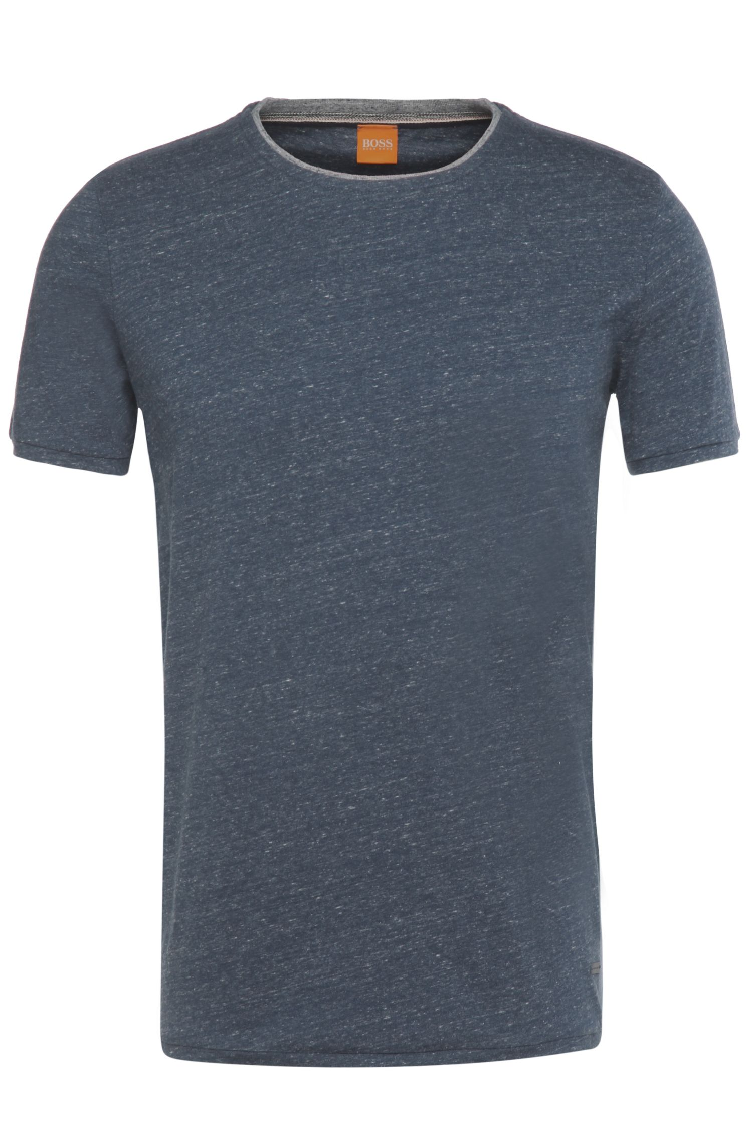 Regular-fit t-shirt in pure cotton: 'Twidget'