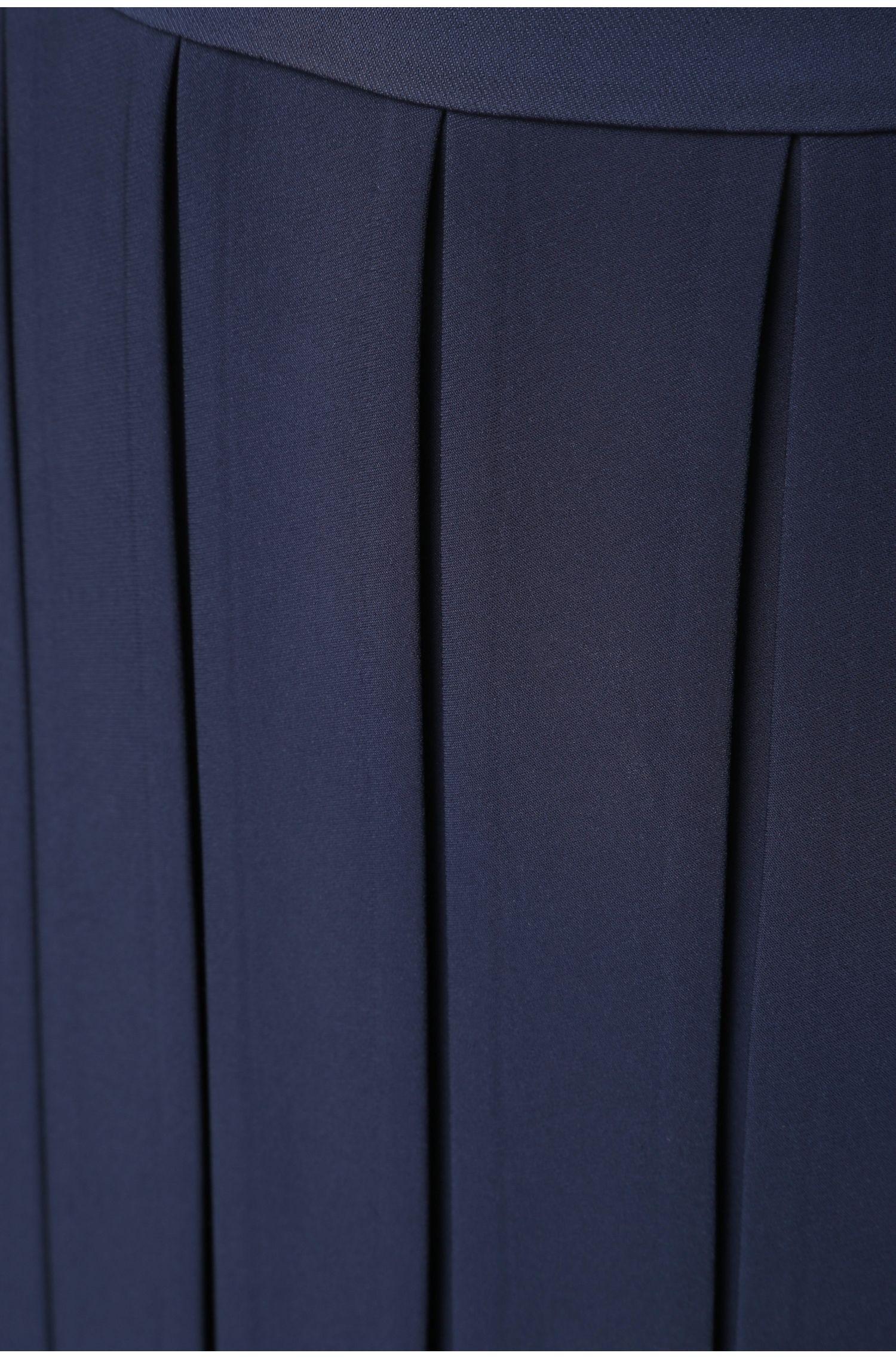 Midi-Rock mit Falten aus fließendem Material: ´Bacuty`