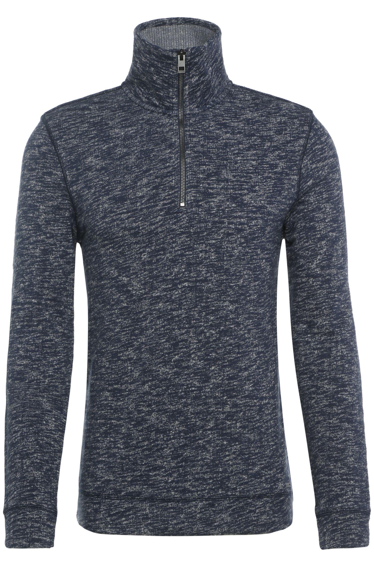 Gemêleerd sweatshirt van BOSS van katoen: 'Zoosh'