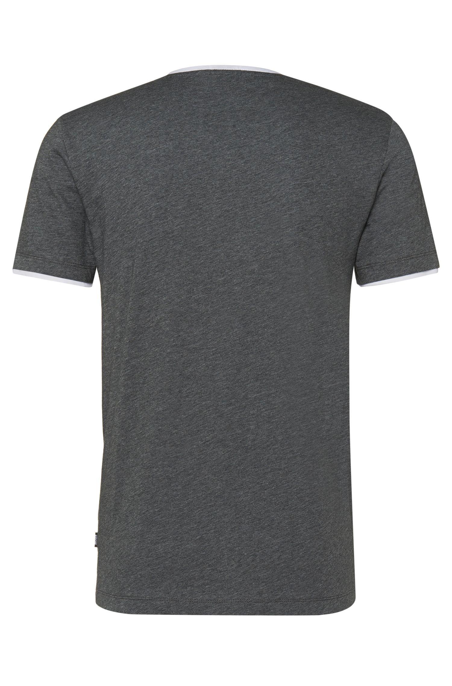 T-shirt Slim Fit en coton: «Tessler19»