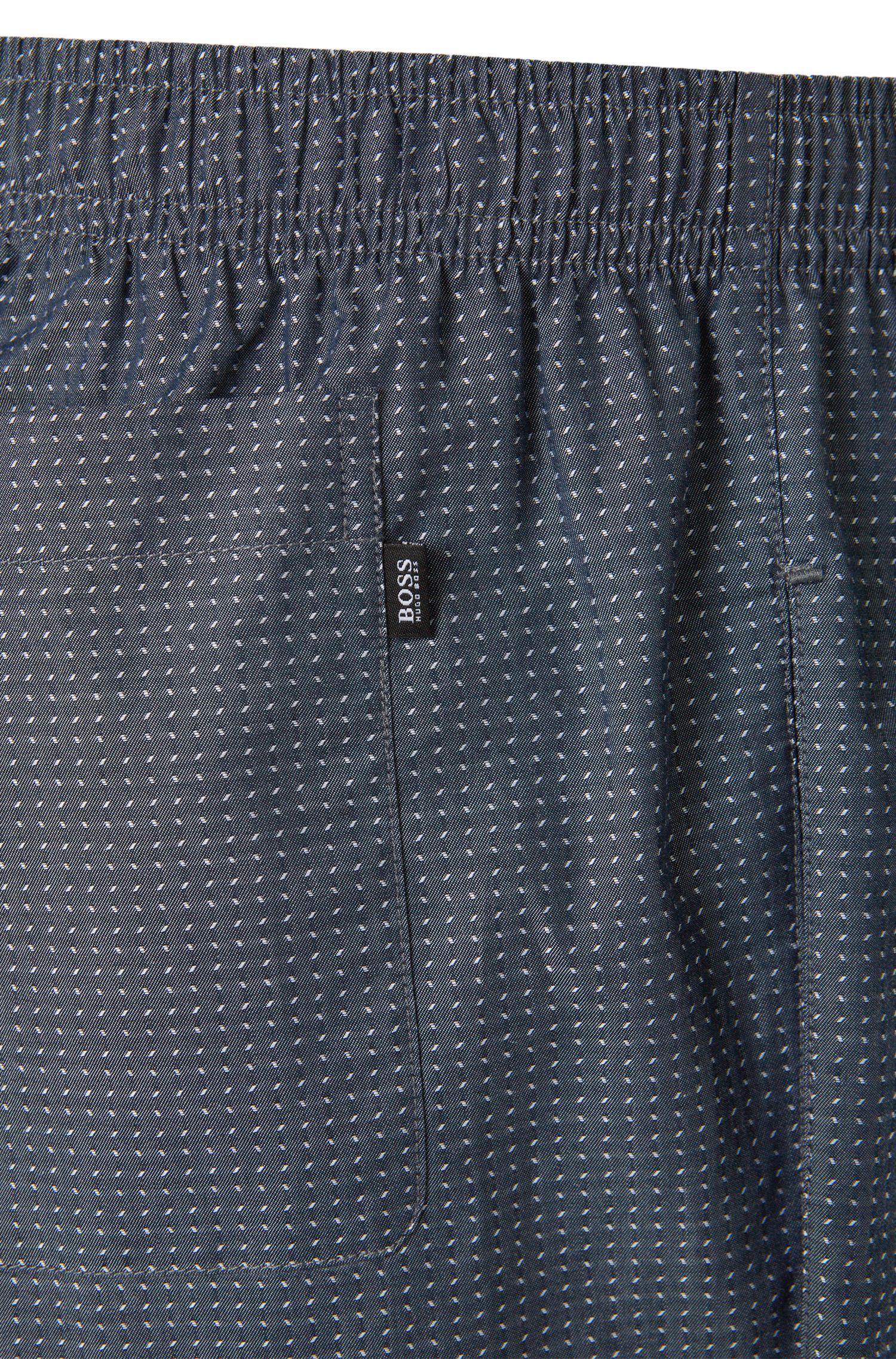 Pantalon de pyjama en coton à motif fin: «Long Pant CW2»