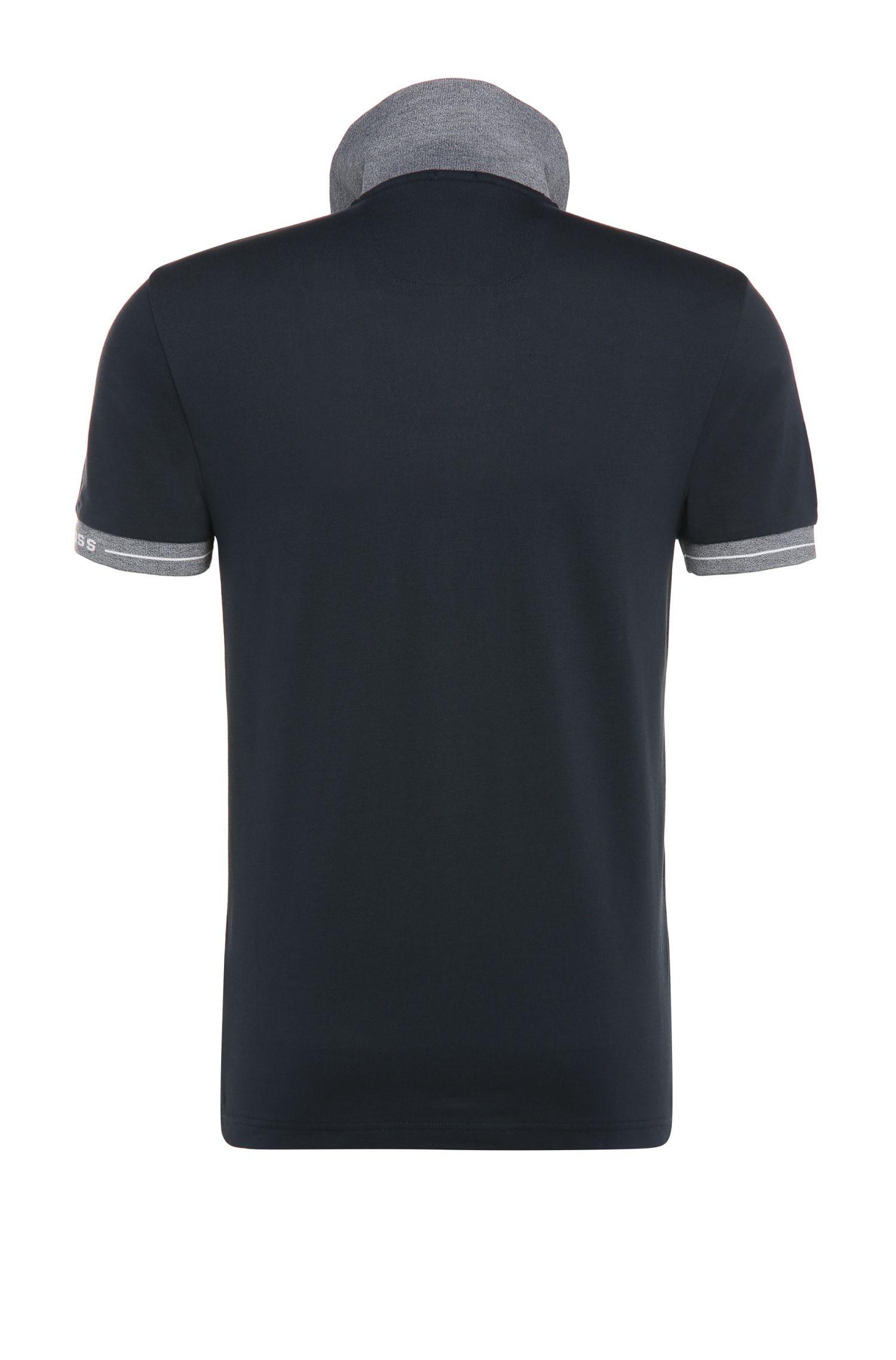 Slim-Fit Poloshirt aus Funktions-Piqué: ´Paule`