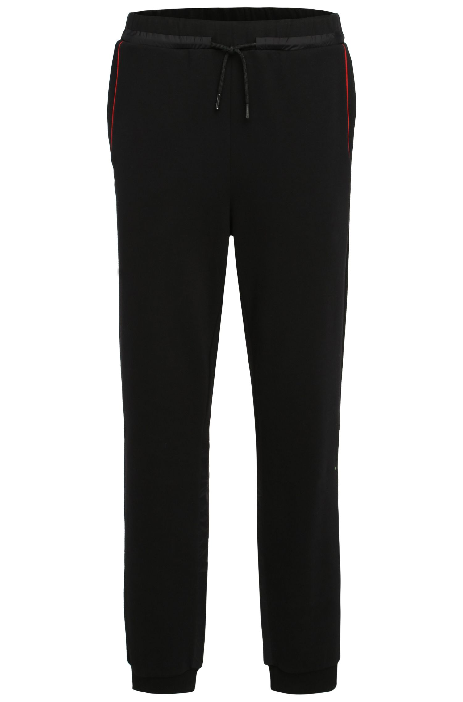 Tracksuit bottoms in cotton blend: 'Hivon'